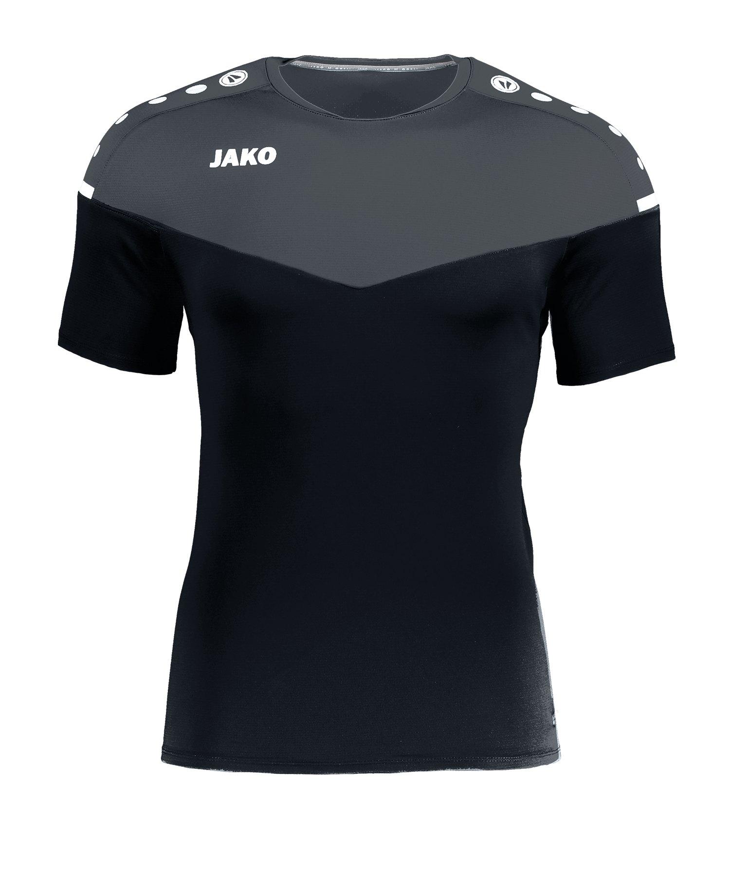 Jako Champ 2.0 T-Shirt Schwarz F08 - schwarz