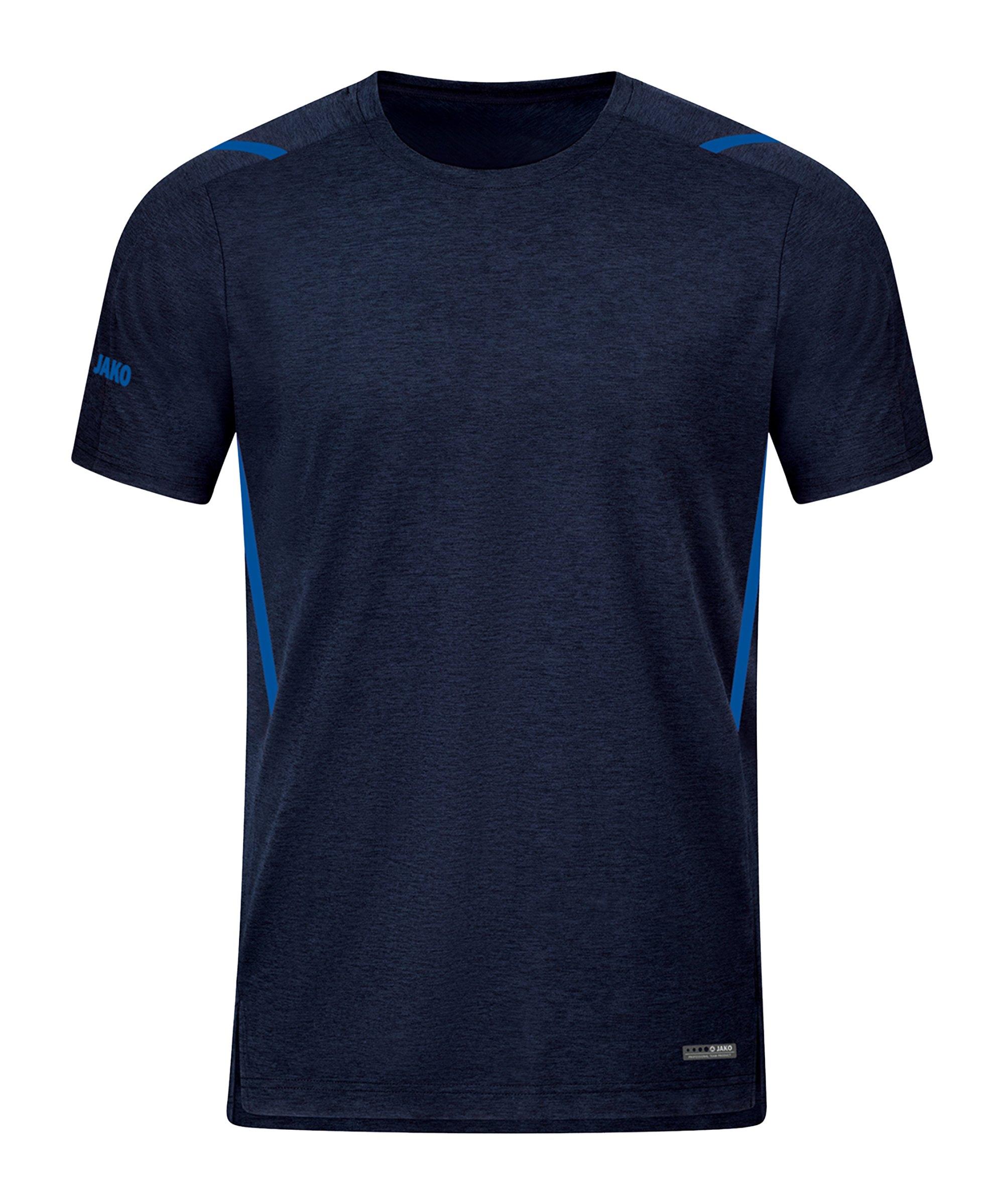 JAKO Challenge Freizeit T-Shirt Blau F511 - blau