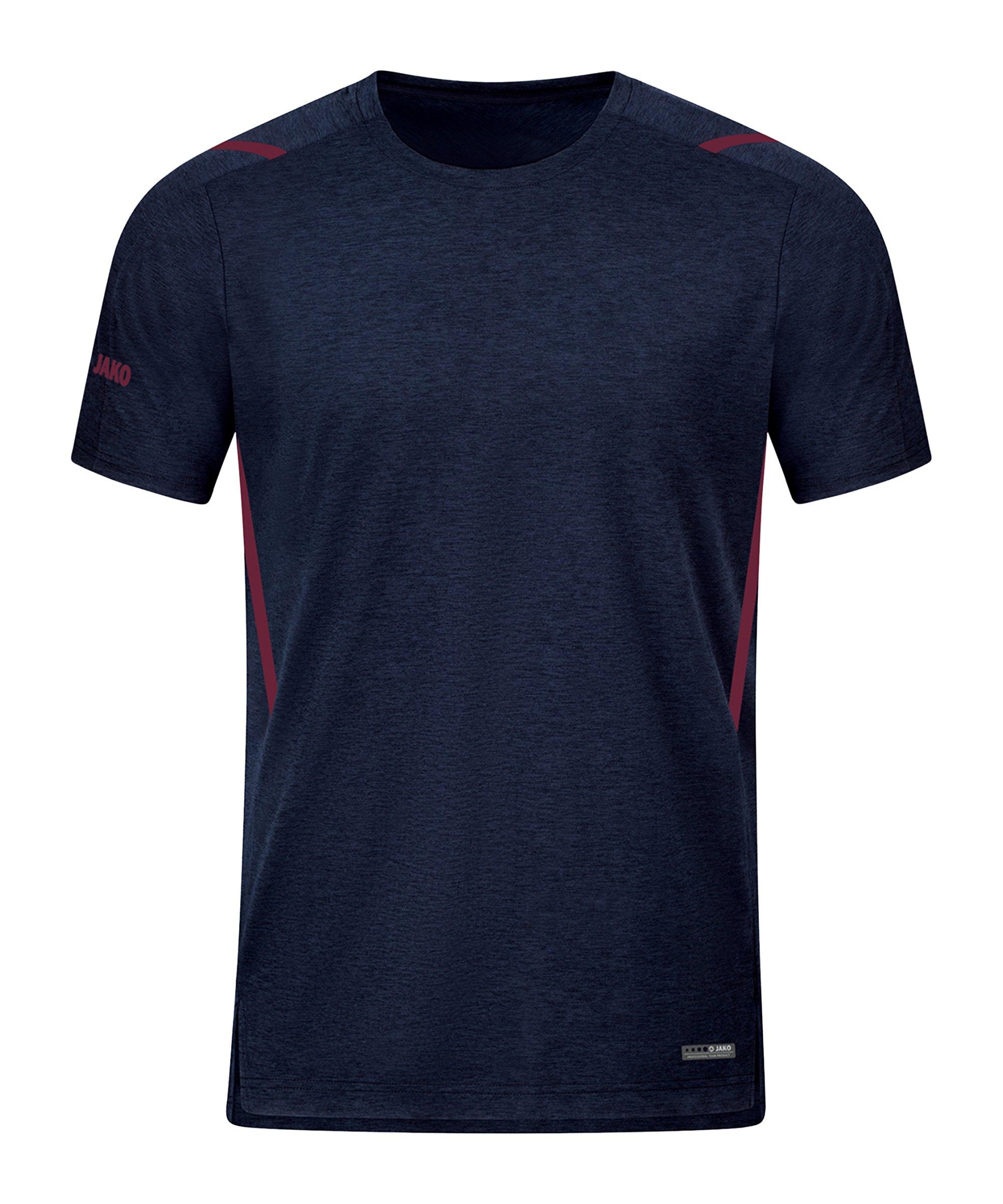 JAKO Challenge Freizeit T-Shirt Blau F513 - blau