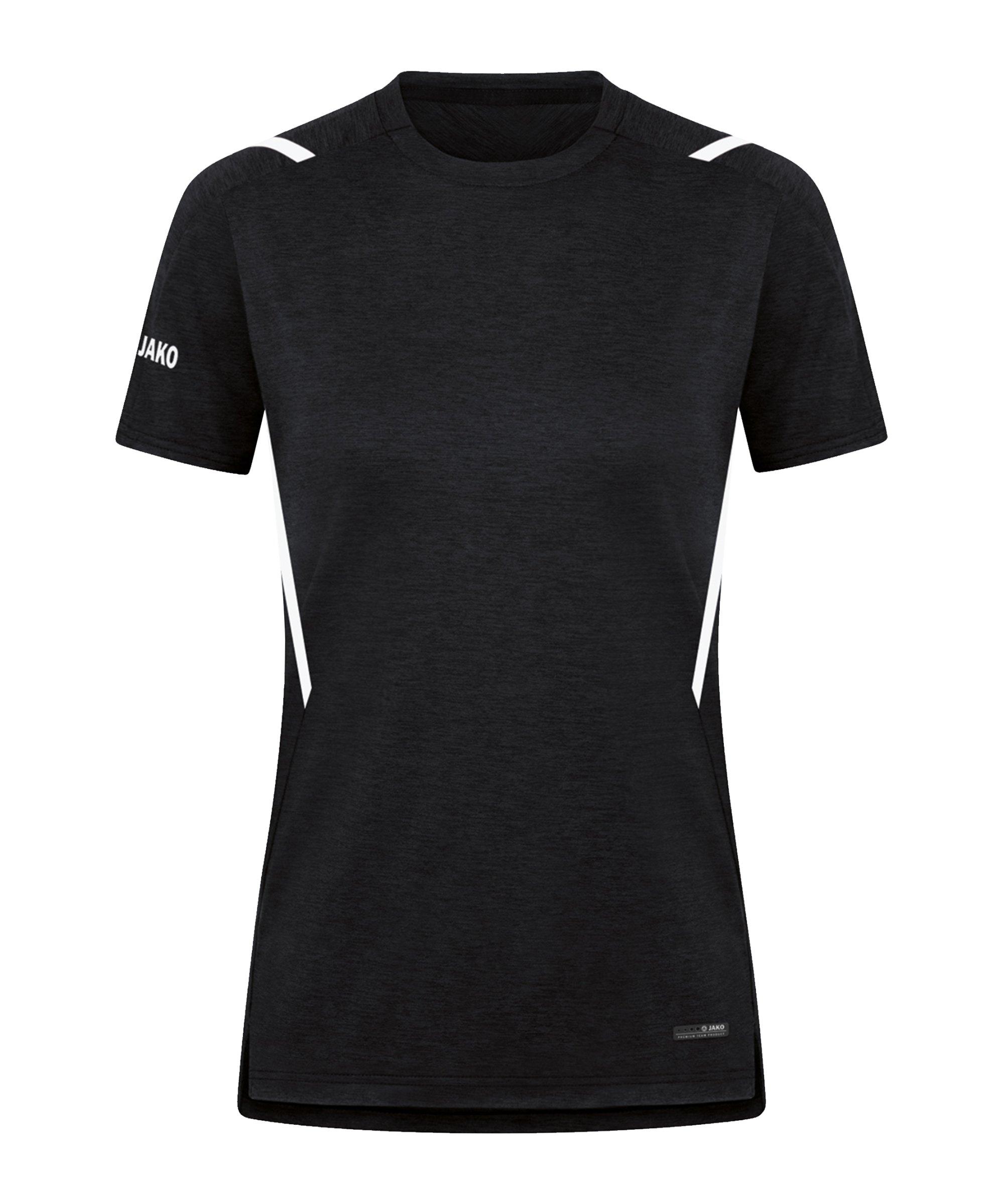 JAKO Challenge Freizeit T-Shirt Damen F501 - schwarz