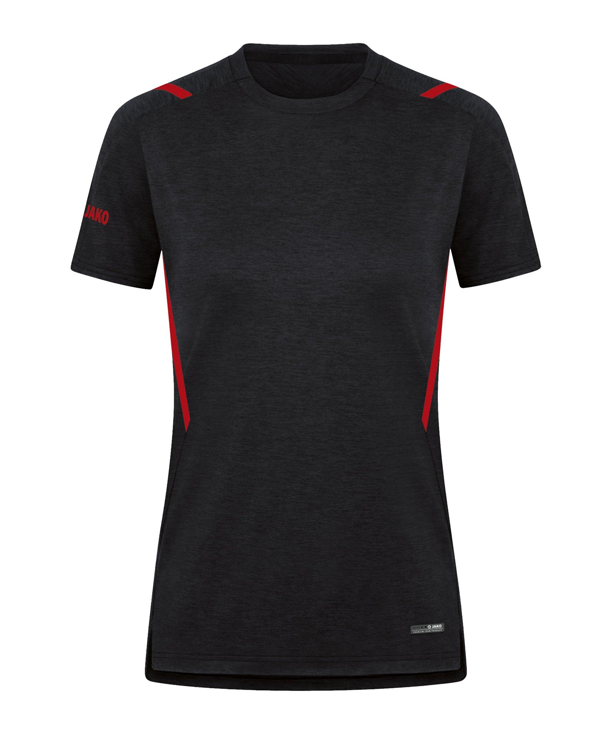 JAKO Challenge Freizeit T-Shirt Damen F502 - schwarz