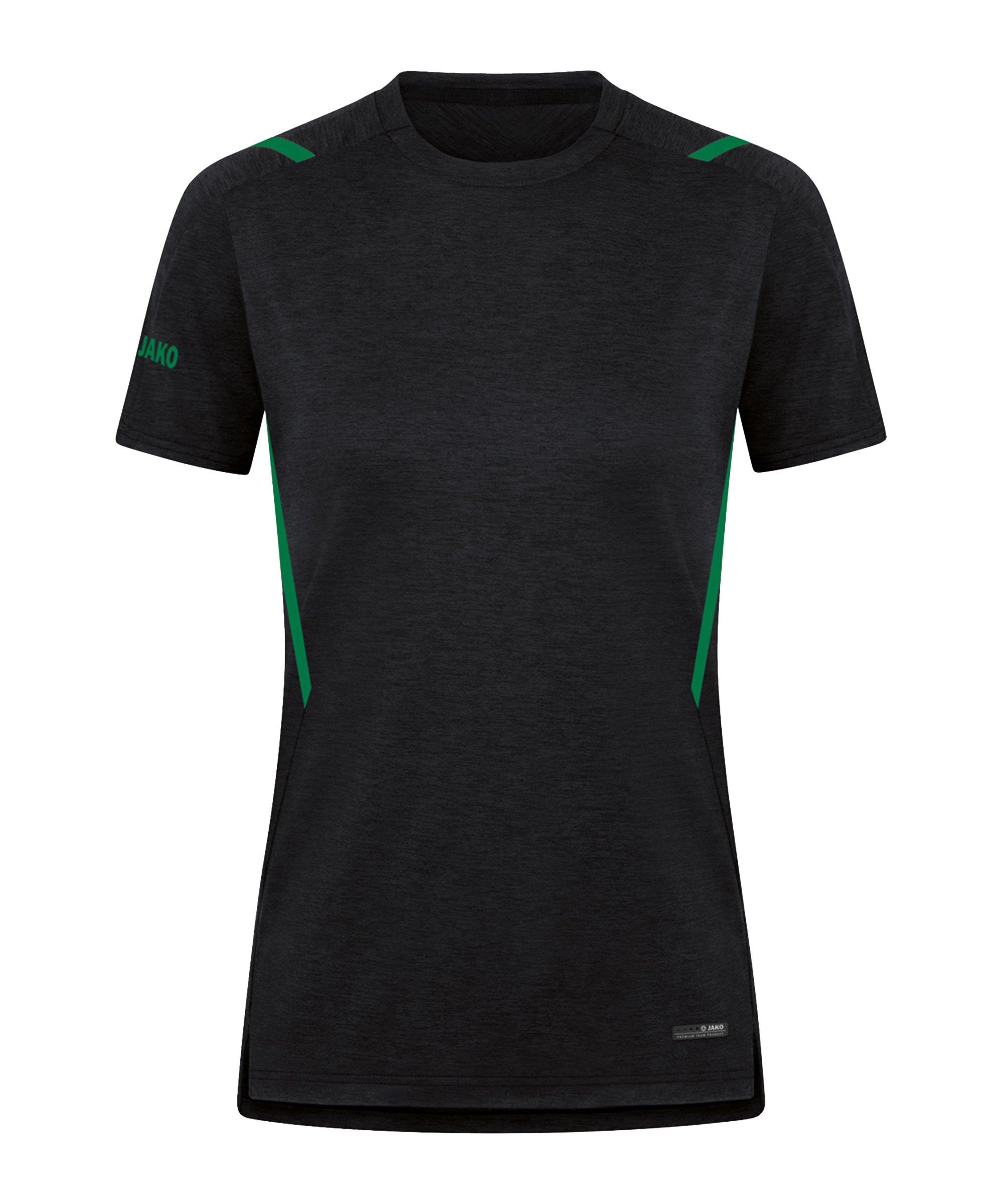 JAKO Challenge Freizeit T-Shirt Damen F503 - schwarz