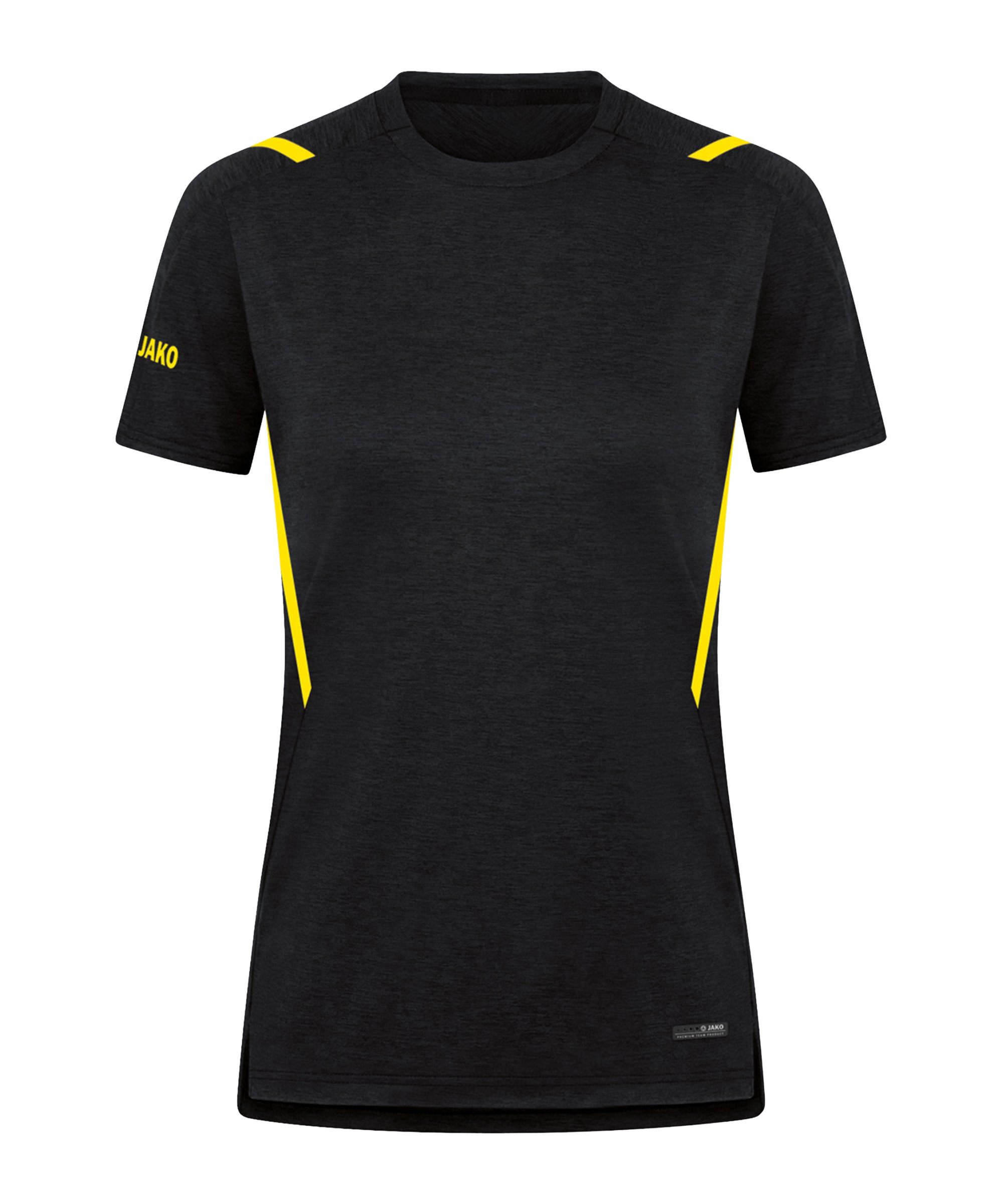 JAKO Challenge Freizeit T-Shirt Damen F505 - schwarz