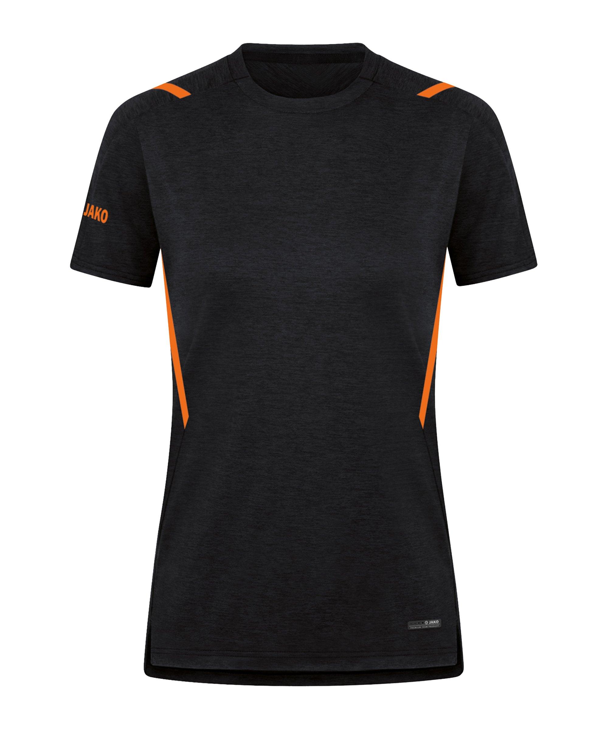JAKO Challenge Freizeit T-Shirt Damen F506 - schwarz