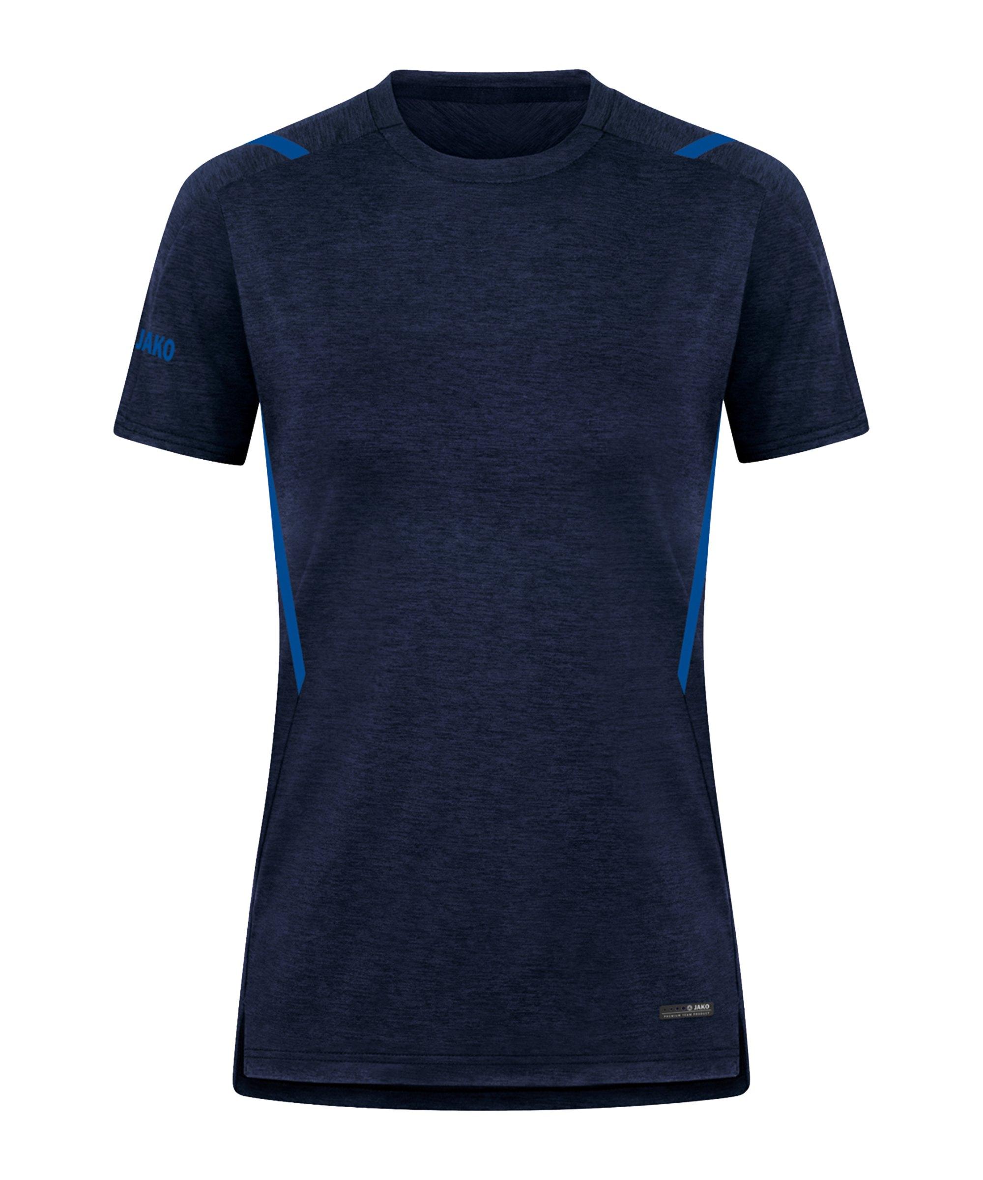 JAKO Challenge Freizeit T-Shirt Damen F511 - blau