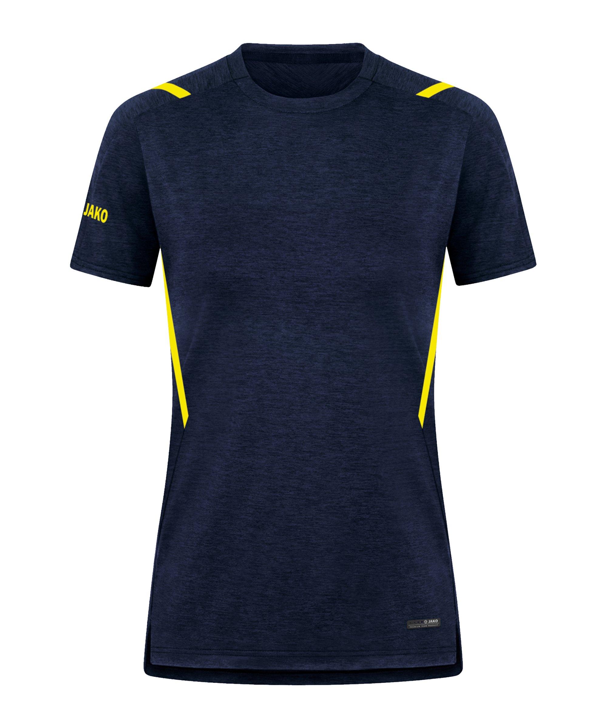 JAKO Challenge Freizeit T-Shirt Damen F512 - blau