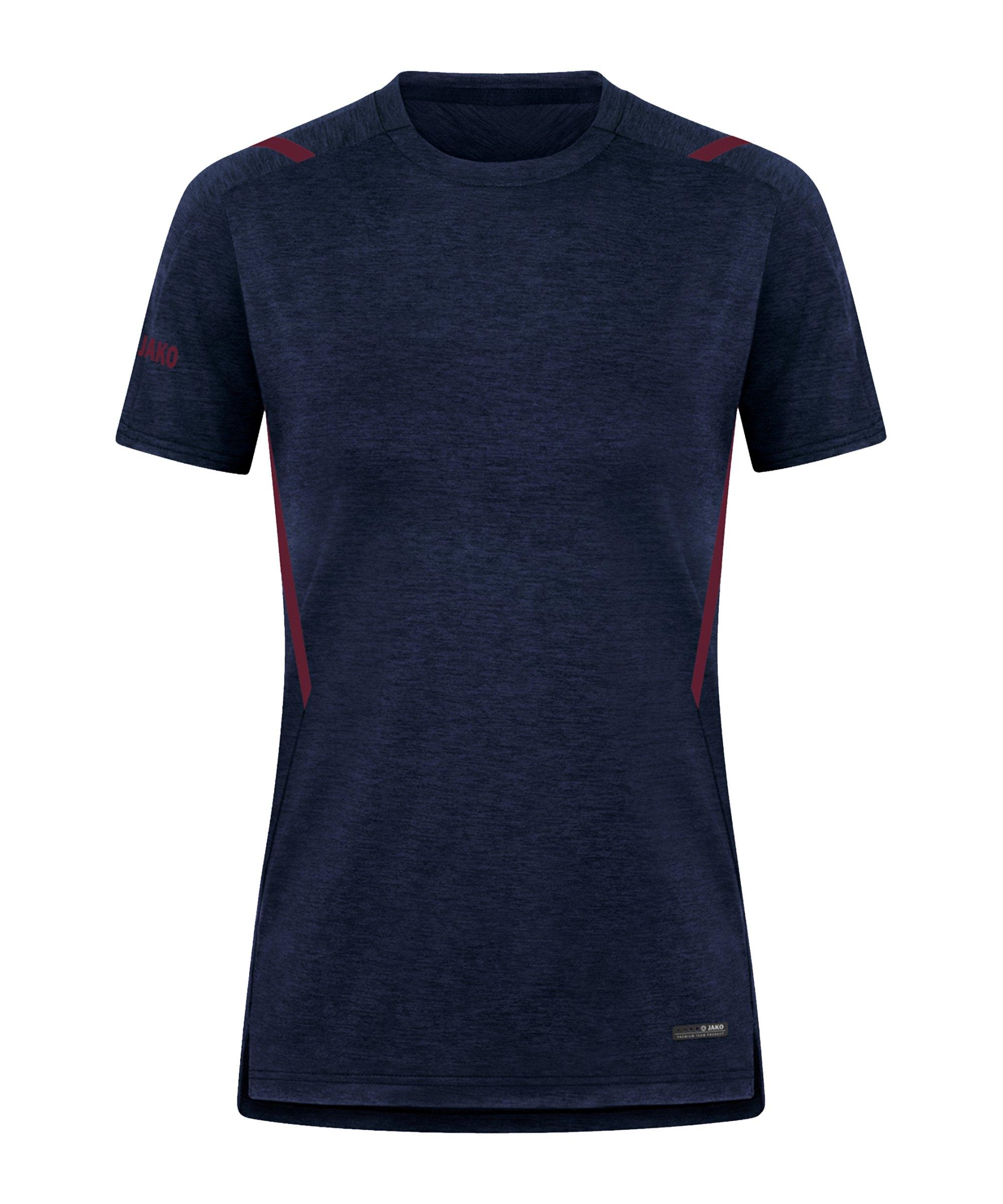 JAKO Challenge Freizeit T-Shirt Damen F513 - blau
