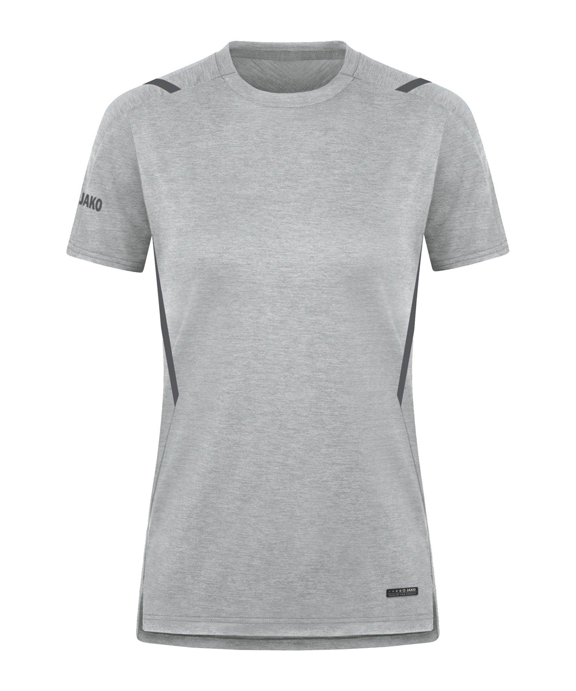 JAKO Challenge Freizeit T-Shirt Damen F521 - grau