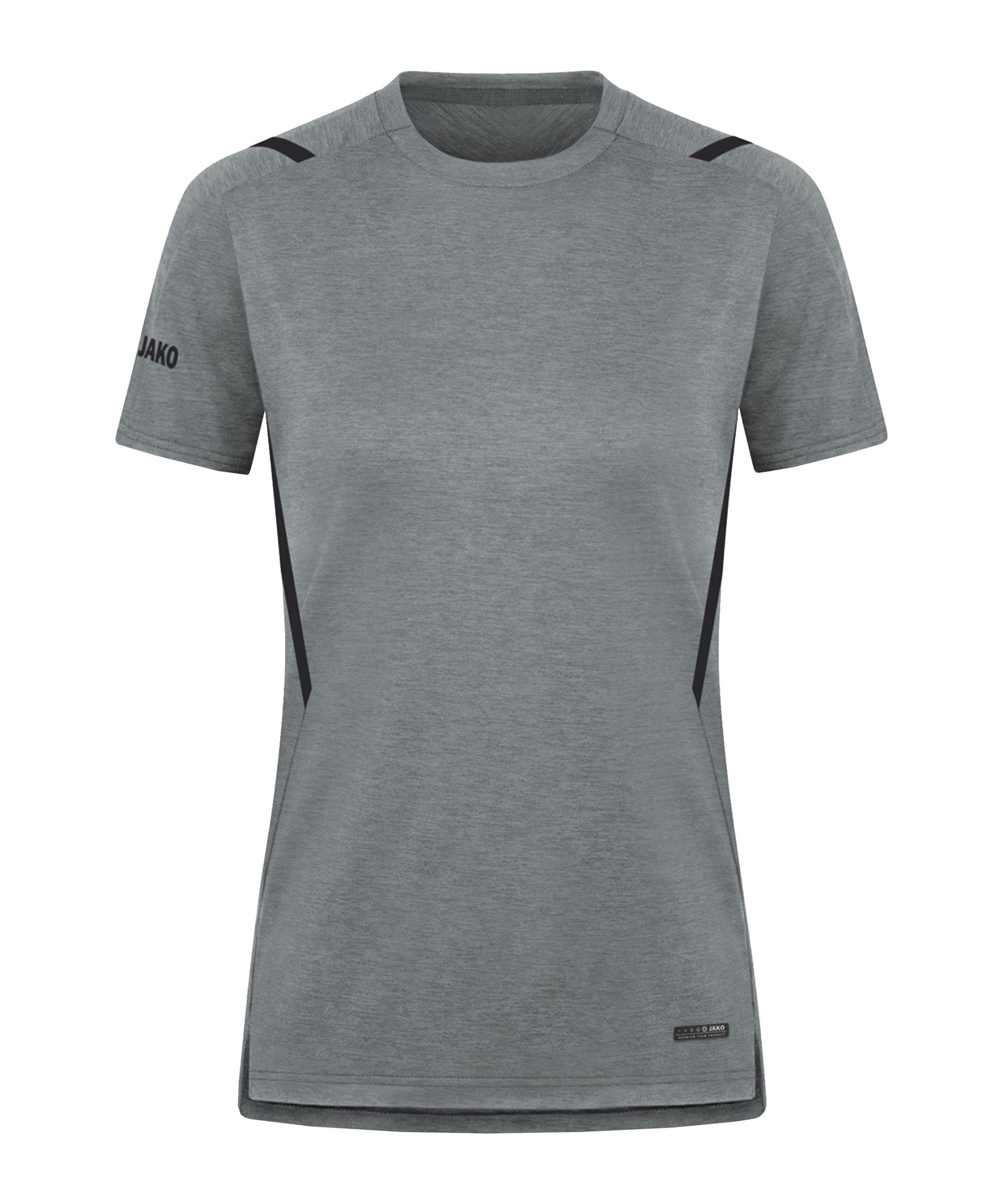 JAKO Challenge Freizeit T-Shirt Damen F531 - grau