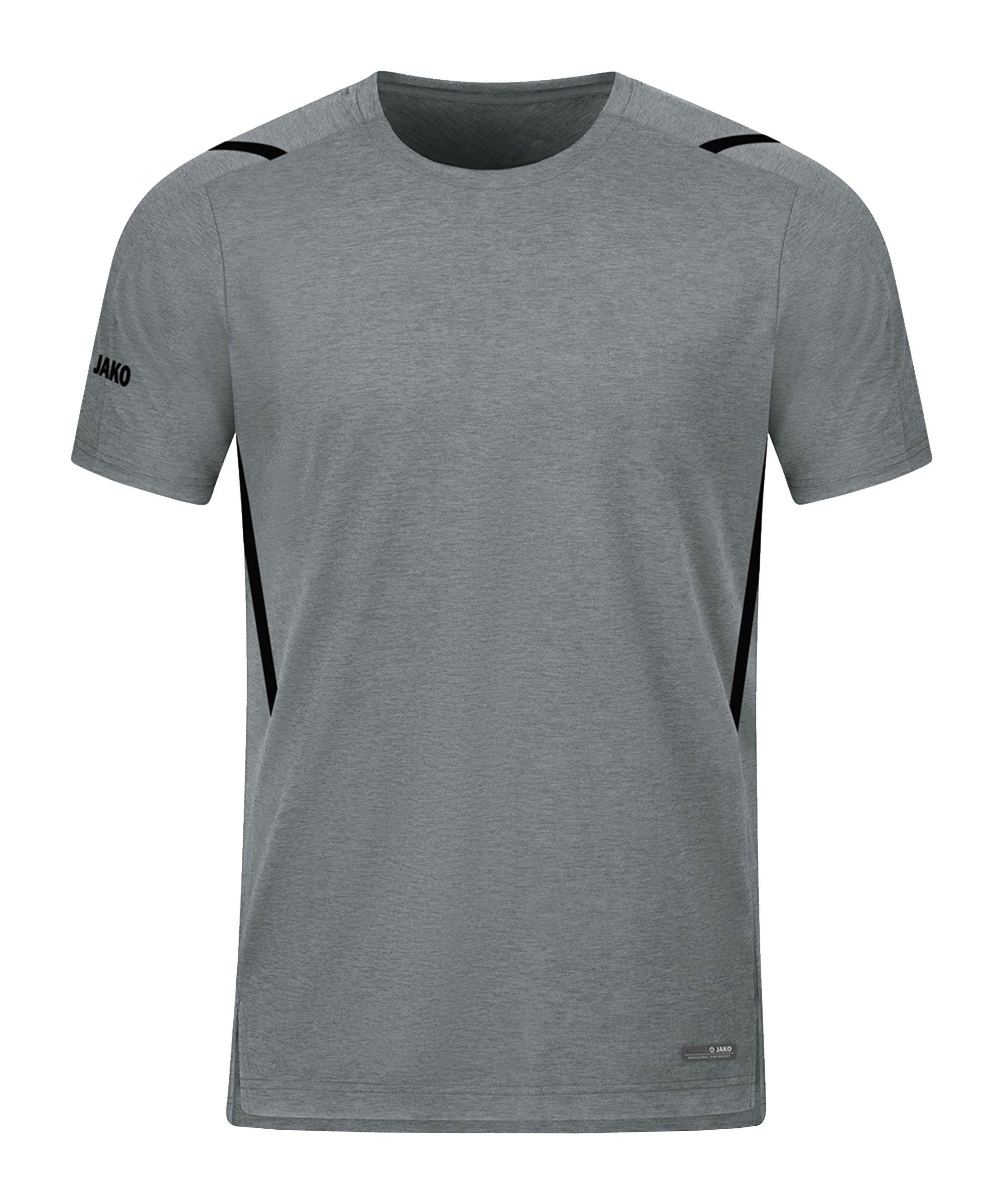 JAKO Challenge Freizeit T-Shirt Grau F531 - grau