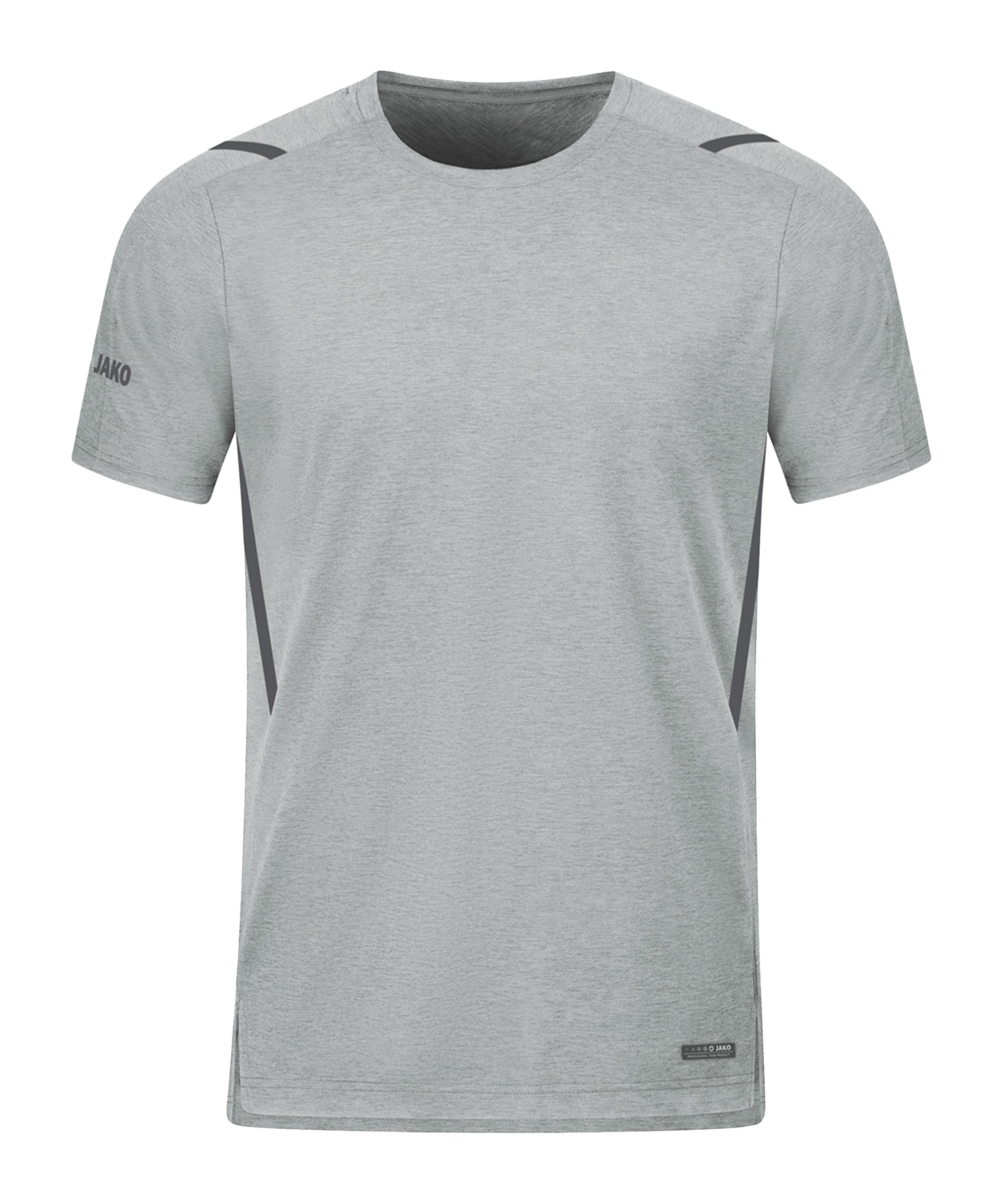 JAKO Challenge Freizeit T-Shirt Kids Grau F521 - grau