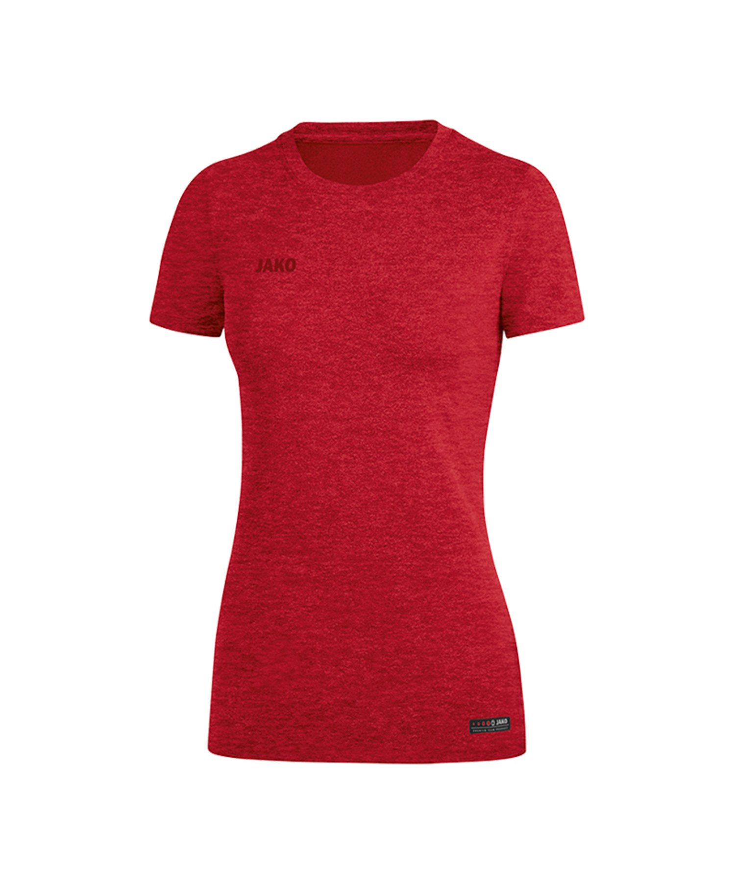 Jako T-Shirt Premium Basic Damen Rot F01 - Rot
