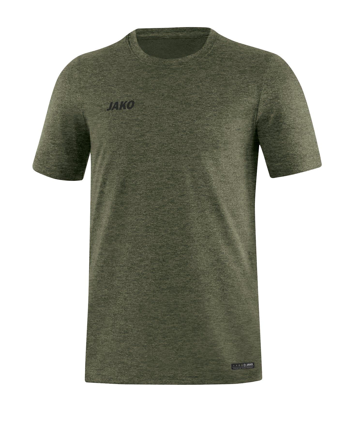 Jako T-Shirt Premium Basic Khaki F28 - khaki