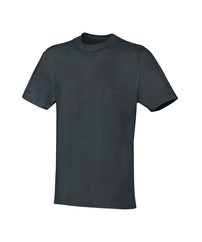 JAKO Team T-Shirt Dunkelgrau F21 - grau