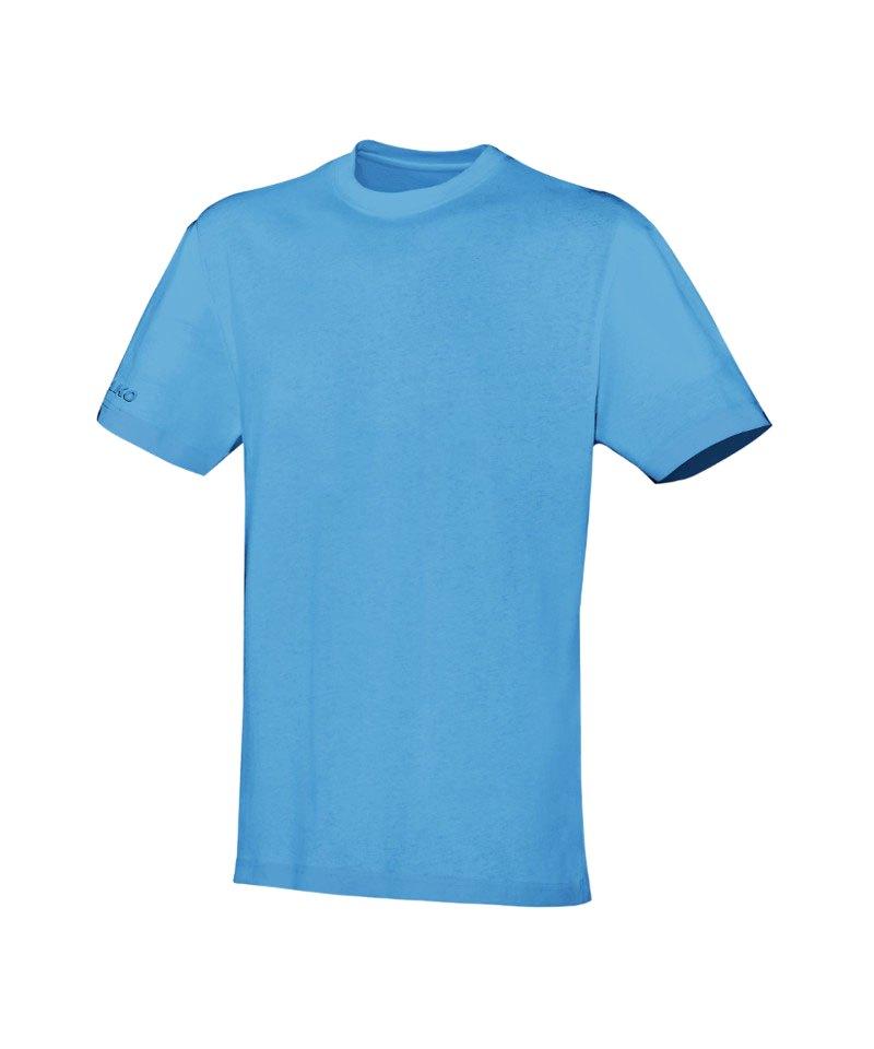 Jako Team T-Shirt Hellblau F45 - blau