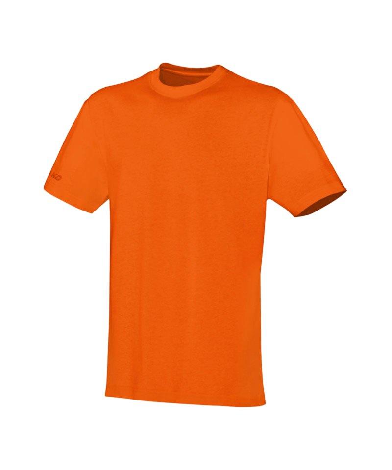 Jako Team T-Shirt Orange F19 - orange
