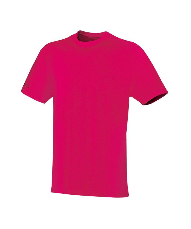 Jako Team T-Shirt Pink F10 - pink