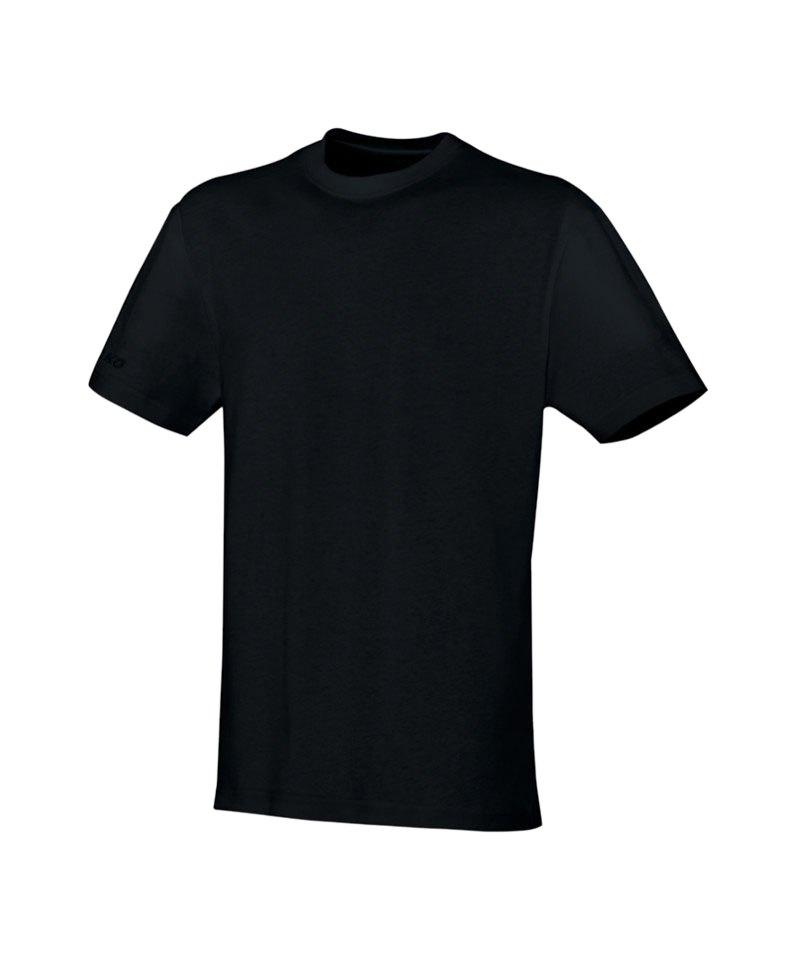Jako Team T-Shirt Schwarz F08 - schwarz