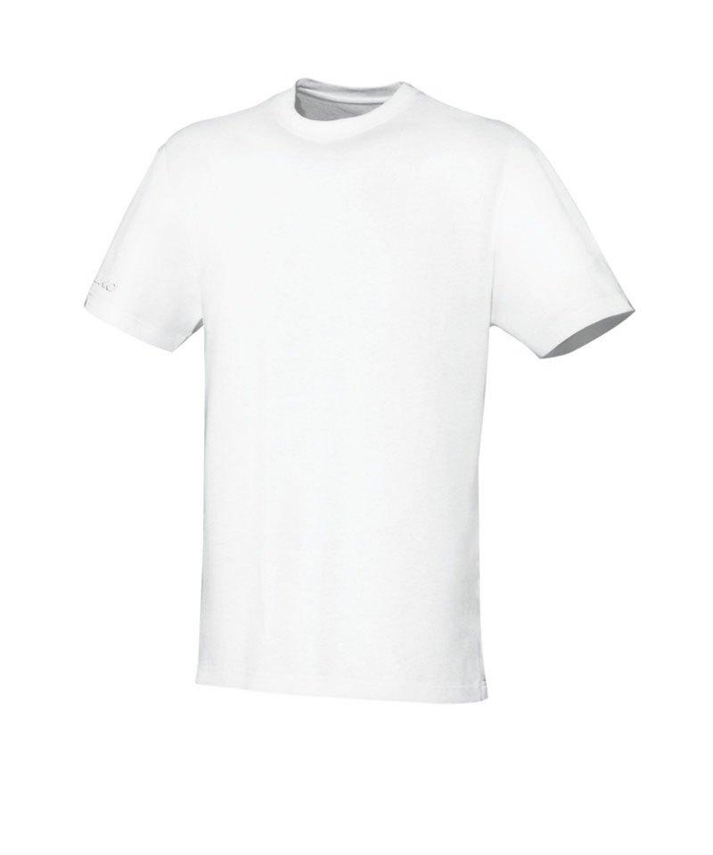 Jako Team T-Shirt Weiss F00 - weiss