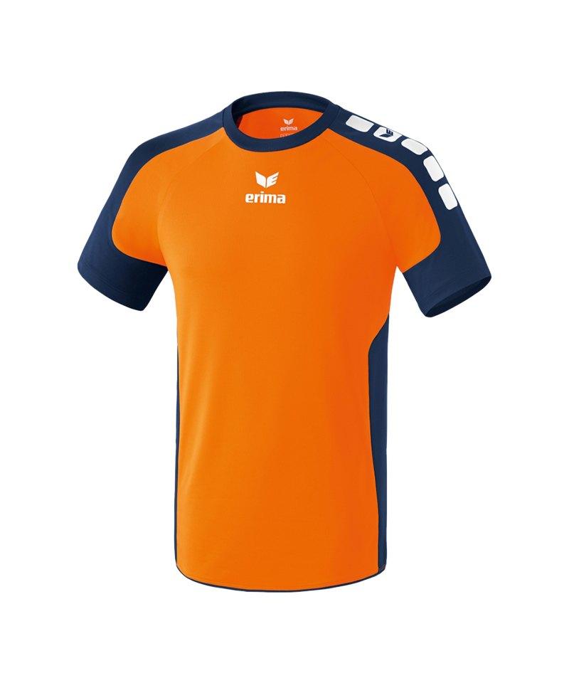 Erima Kurzarm Trikot Valencia Orange - orange