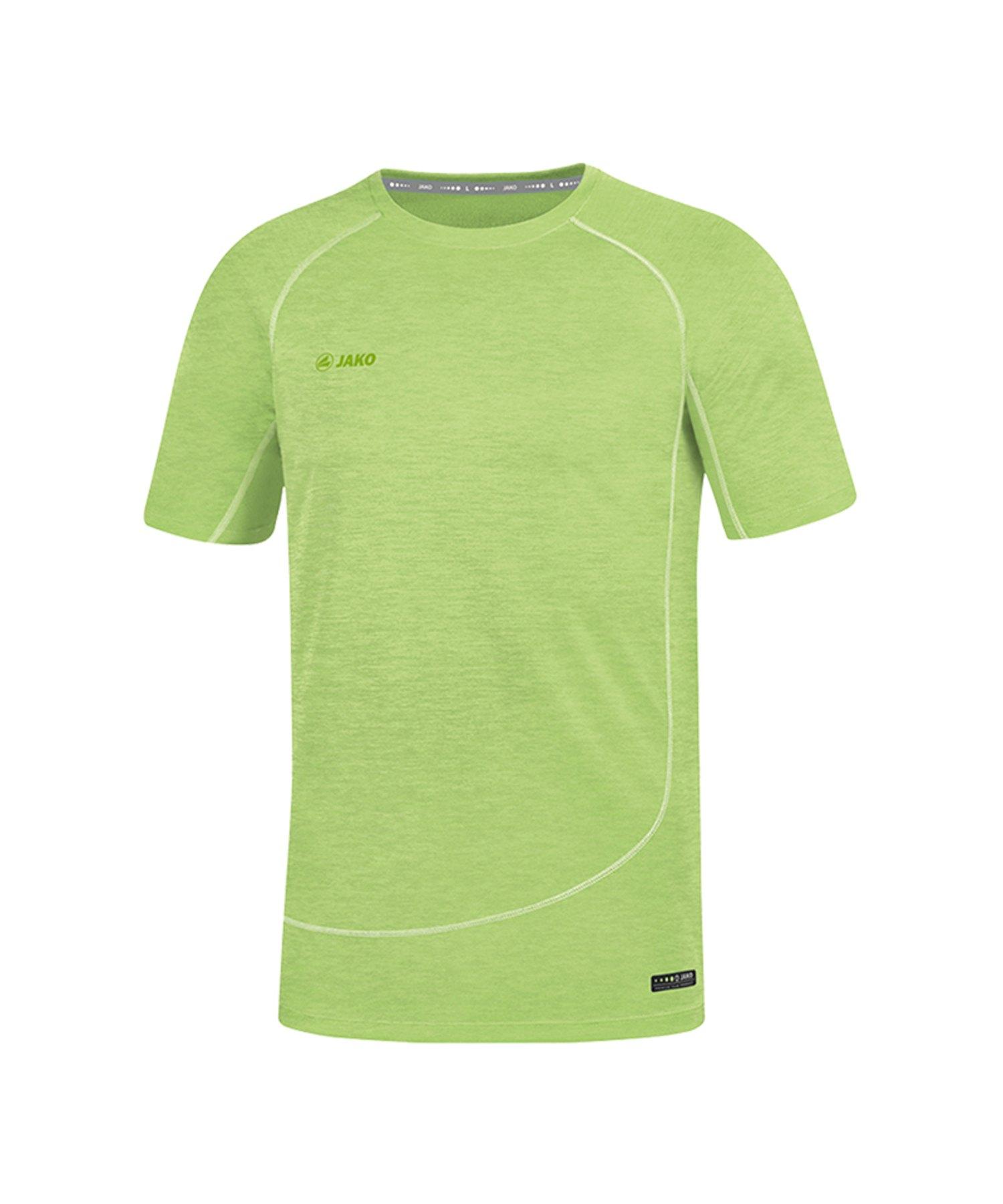 Jako T-Shirt Active Basics Grün F25 - Gruen