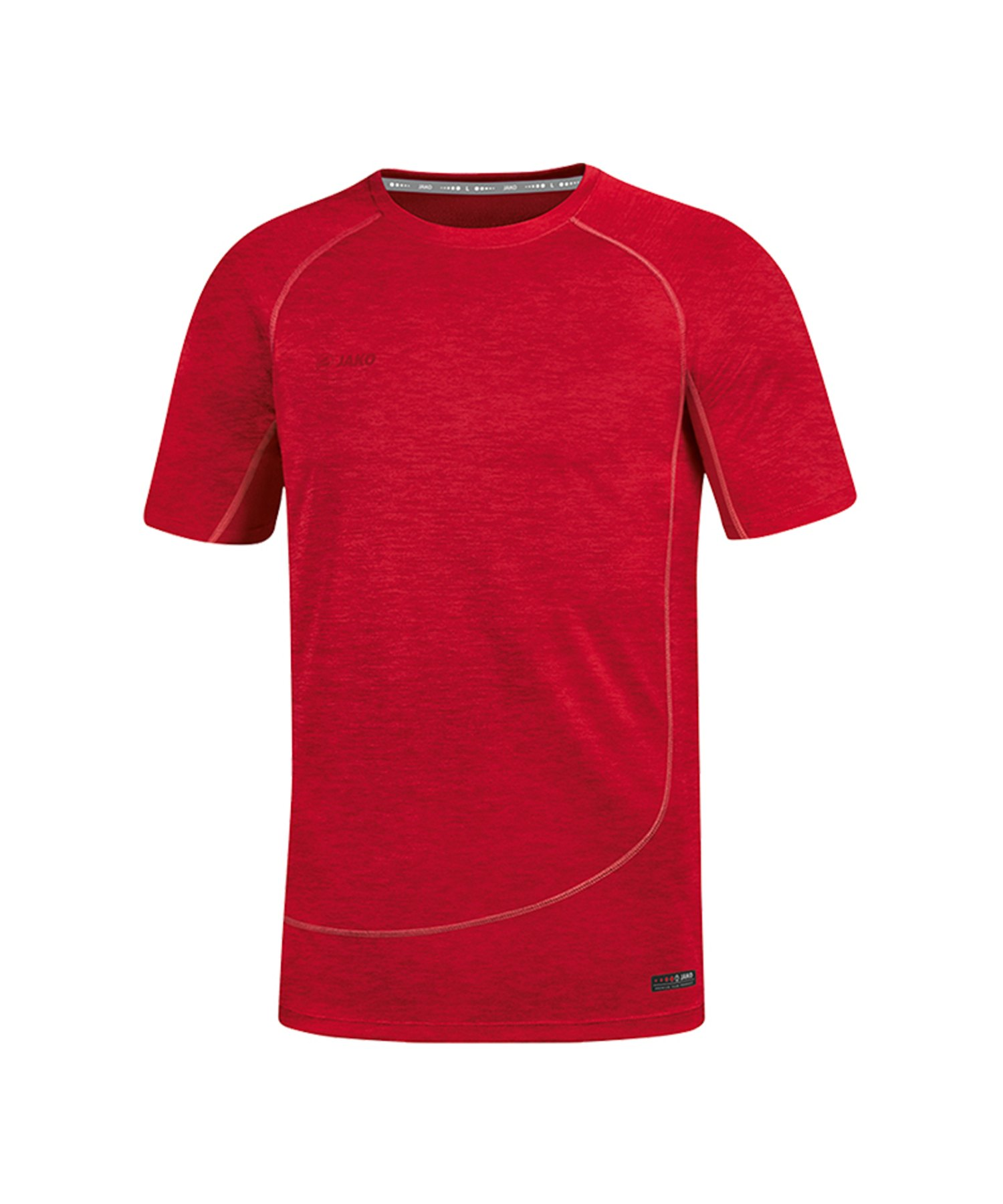 Jako T-Shirt Active Basics Rot F01 - Rot