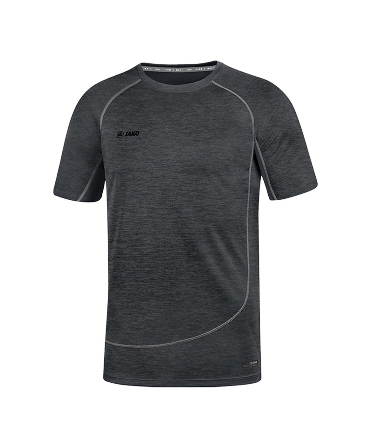 Jako T-Shirt Active Basics Schwarz F08 - Schwarz