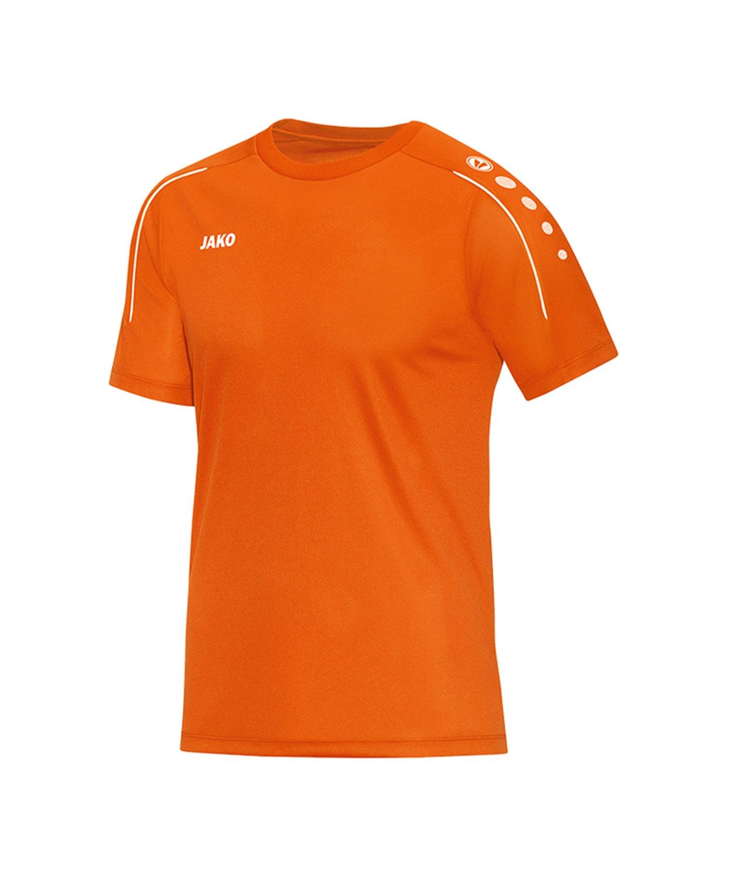 Jako Classico T-Shirt Kids Orange F19 - Orange