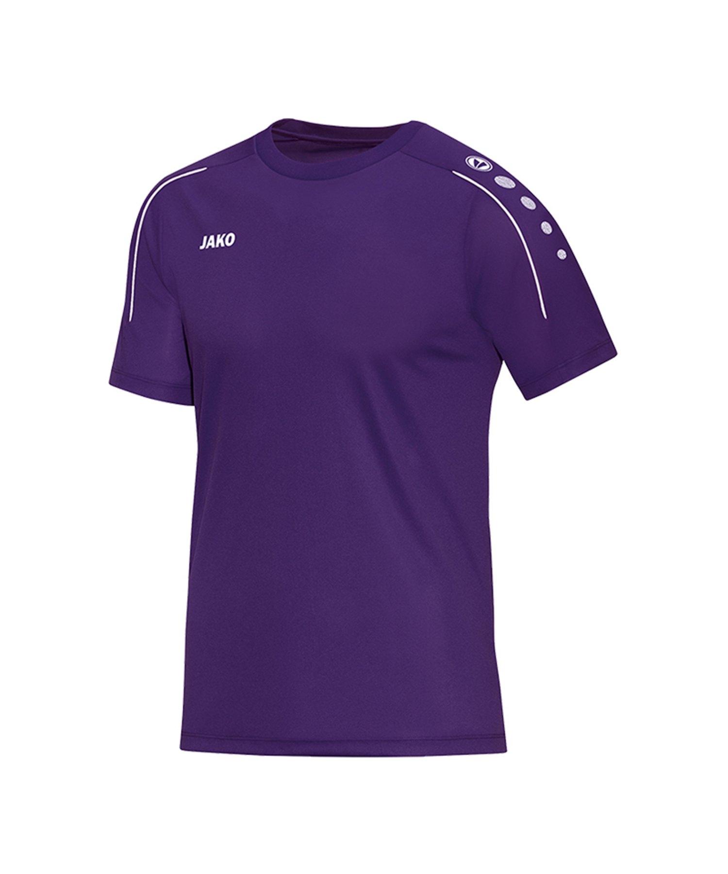 Jako Classico T-Shirt Lila F10 - Lila