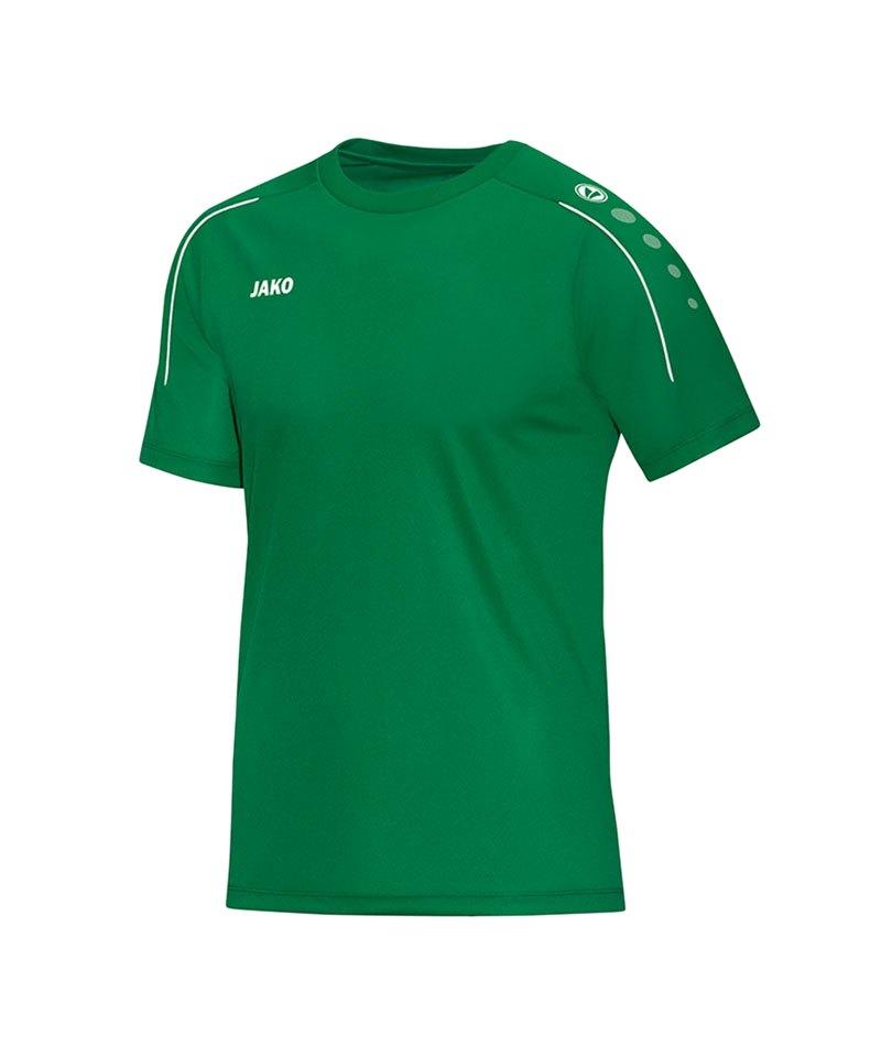 Jako T-Shirt Classico Kinder Grün F06 - gruen