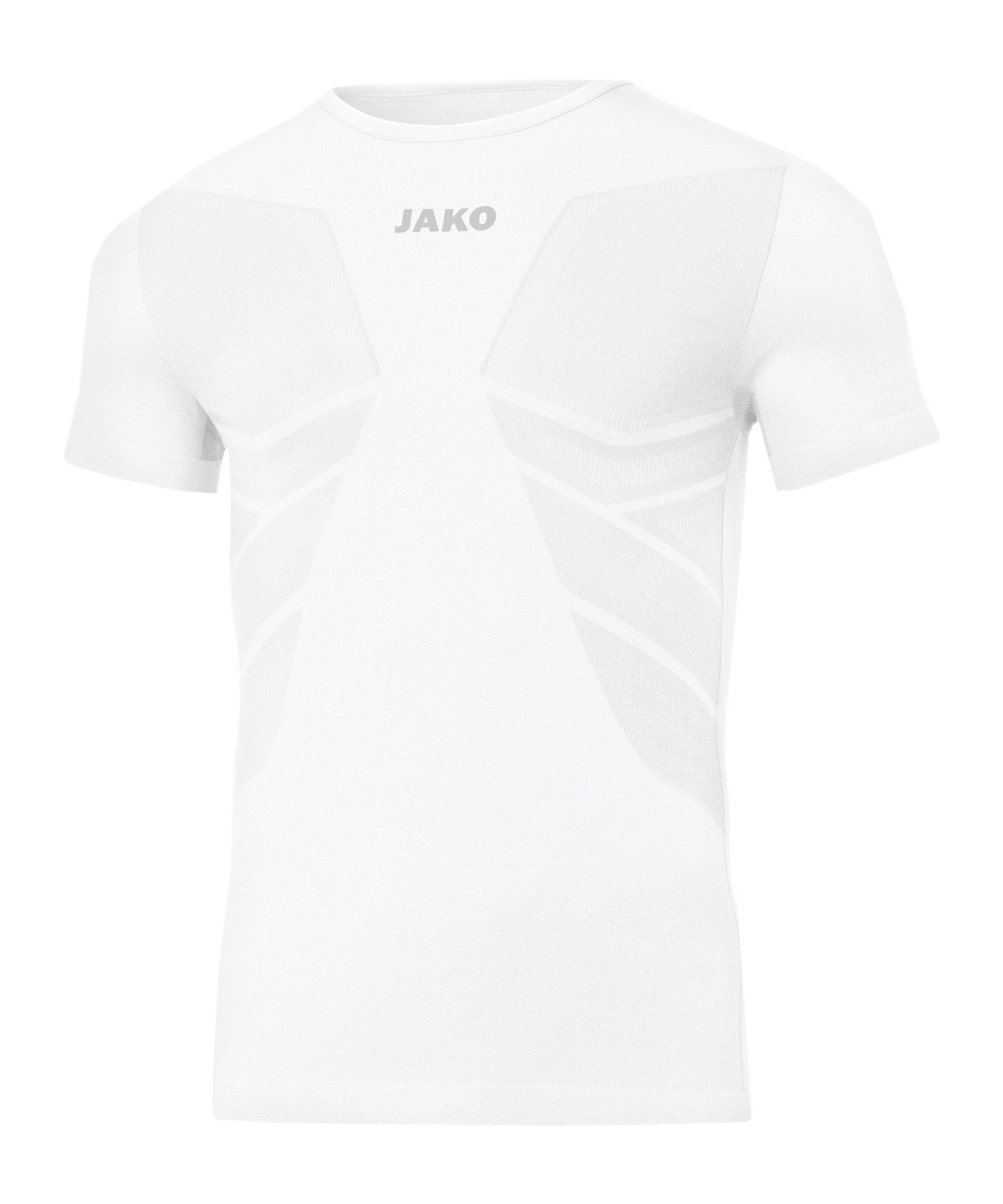 JAKO Comfort 2.0 T-Shirt Weiss F00 - weiss