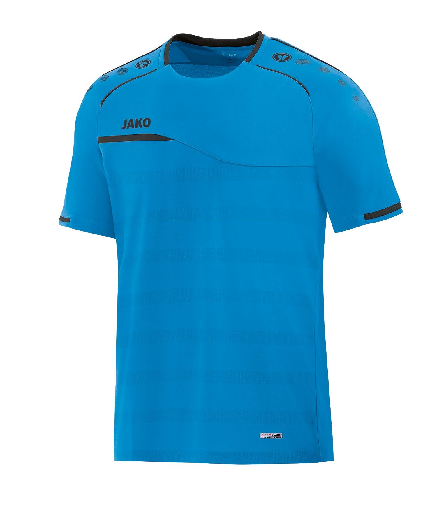 Jako Prestige T-Shirt Kids Blau Grau F21 - blau