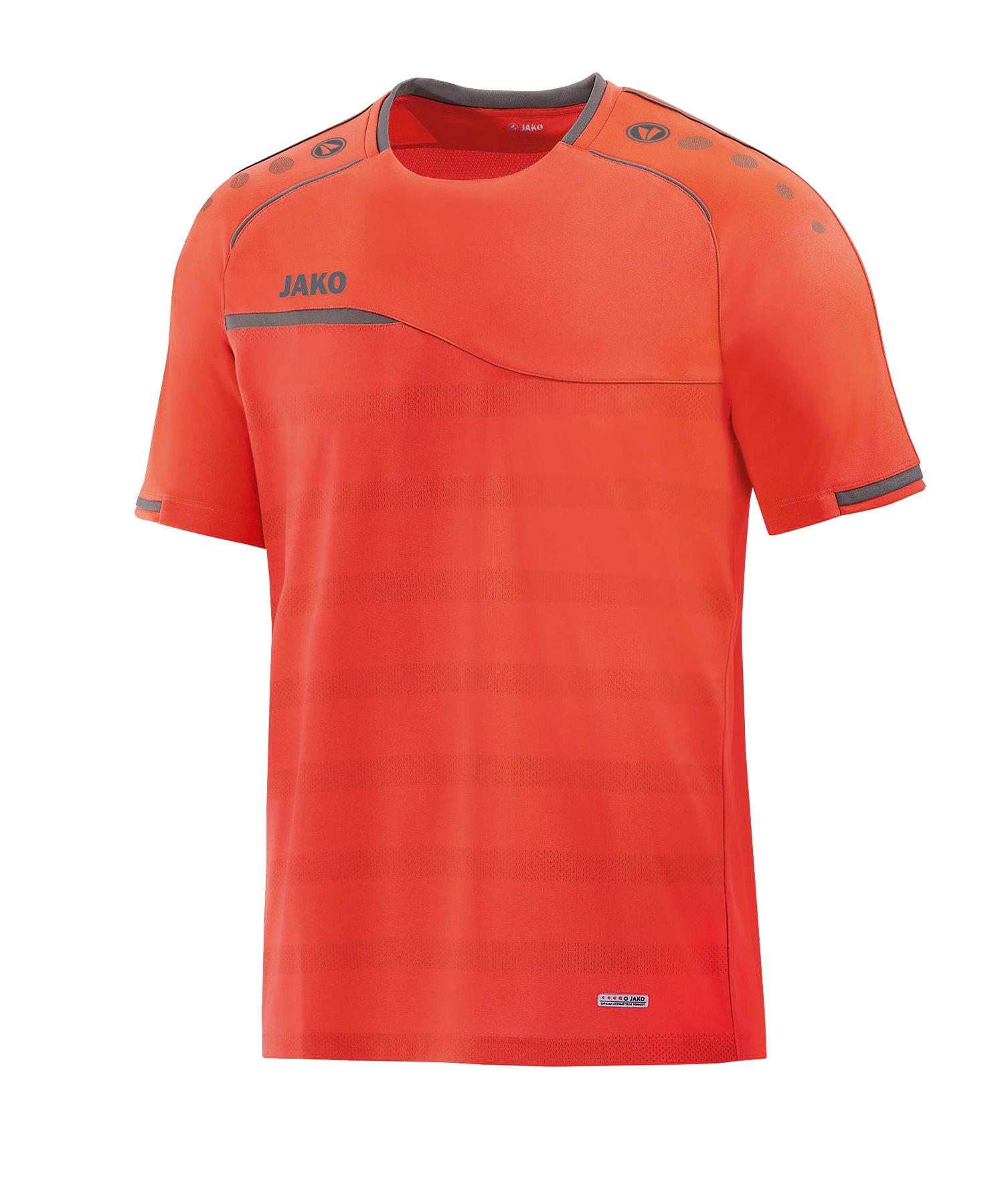 Jako Prestige T-Shirt Kids Orange Grau F40 - orange