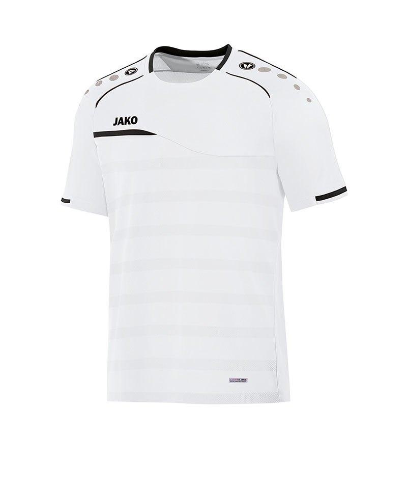 Jako Prestige T-Shirt Weiss Schwarz F00 - weiss