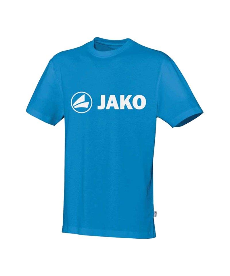 Jako Promo T-Shirt Blau Weiss F89 - blau
