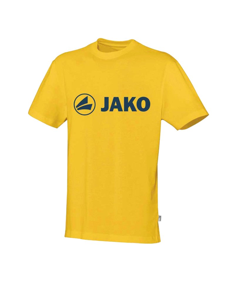Jako Promo T-Shirt Gelb Schwarz F03 - gelb