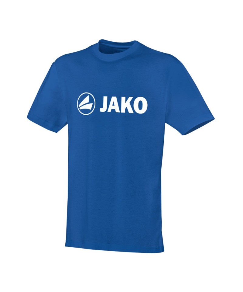 Jako T-Shirt Promo Blau Weiss F04 - blau