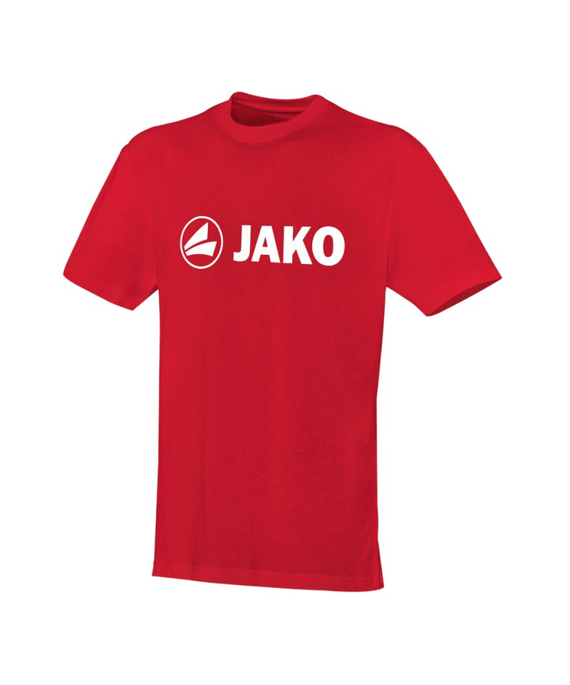 Jako T-Shirt Promo Rot Weiss F01 - rot