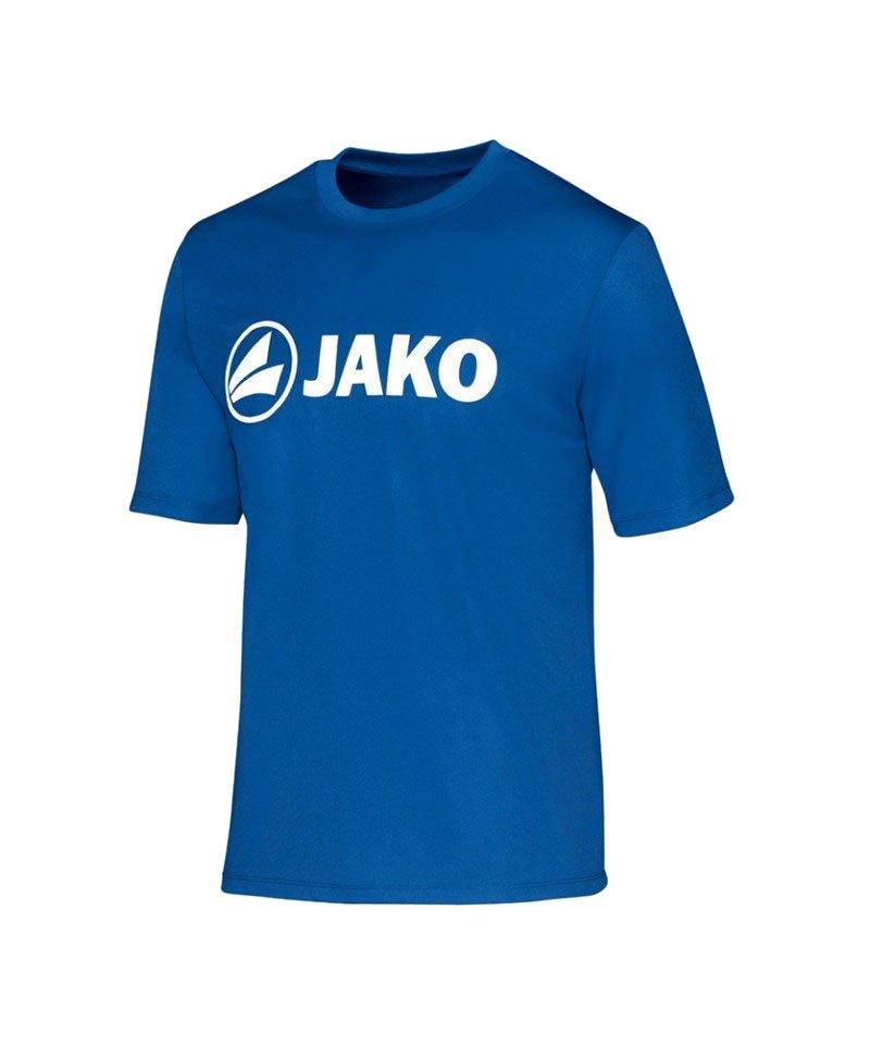 Jako T-Shirt Promo Funktionsshirt Blau F07 - blau