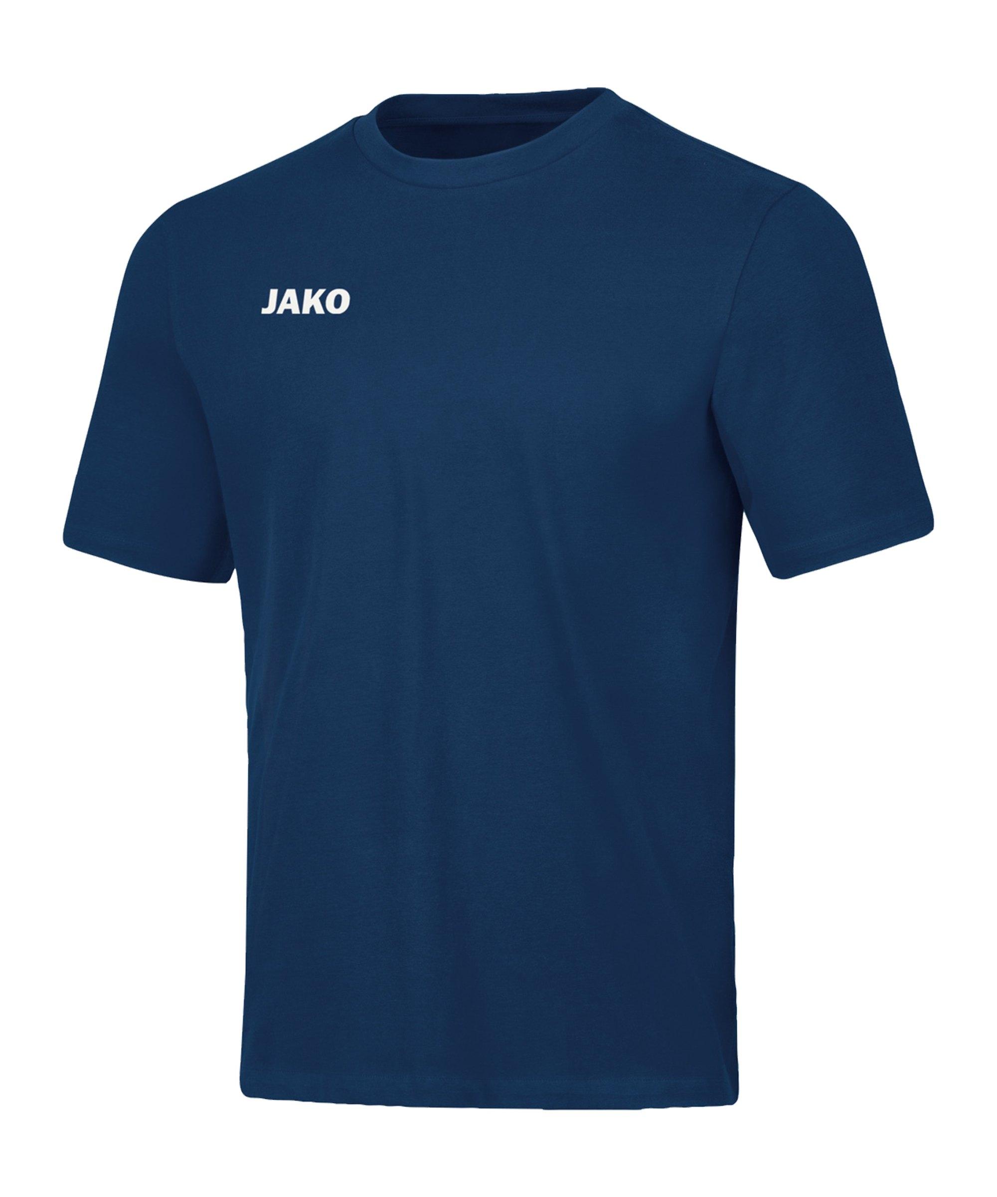 JAKO Base T-Shirt Blau F09 - blau