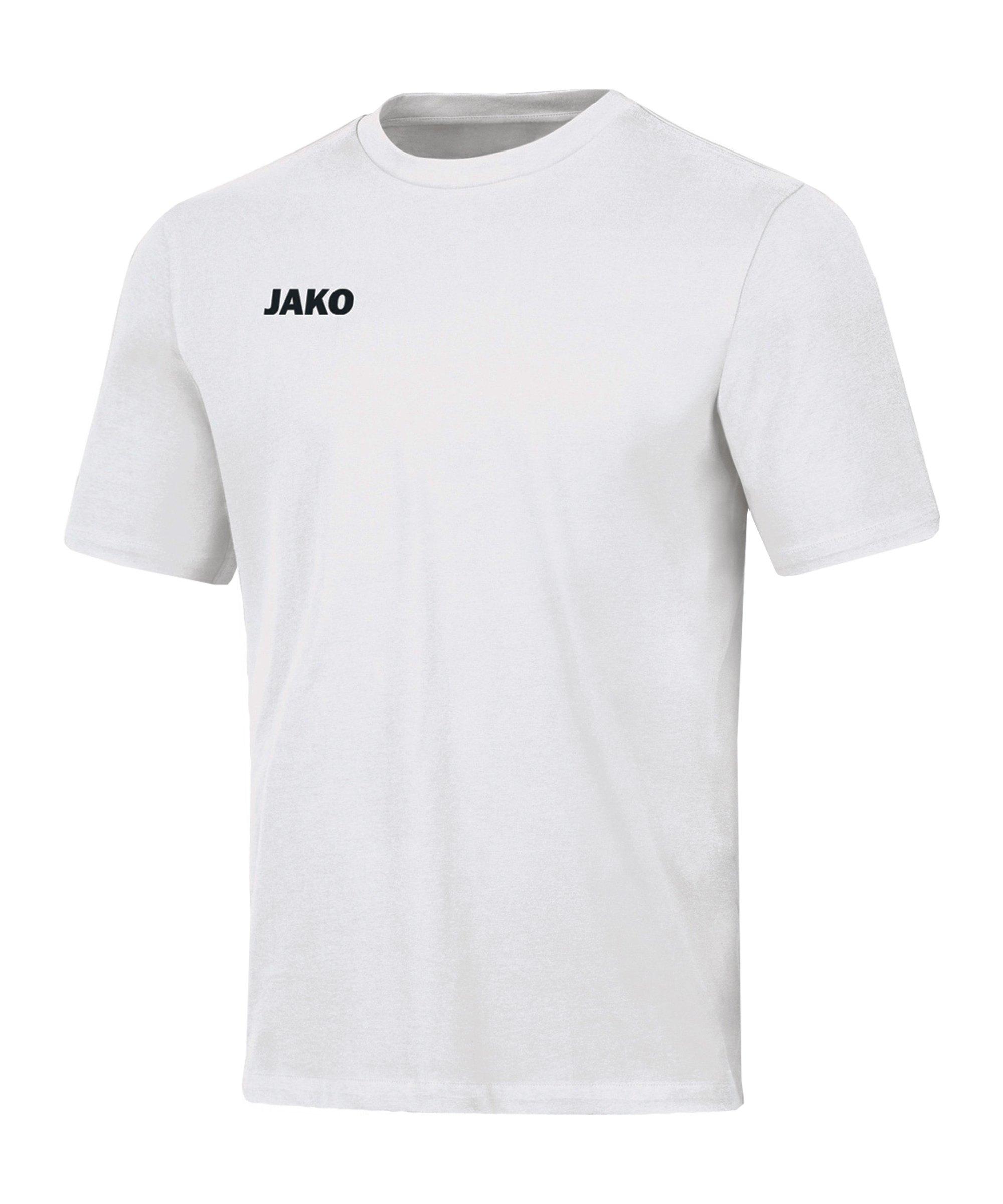 JAKO Base T-Shirt Damen Weiss F00 - weiss