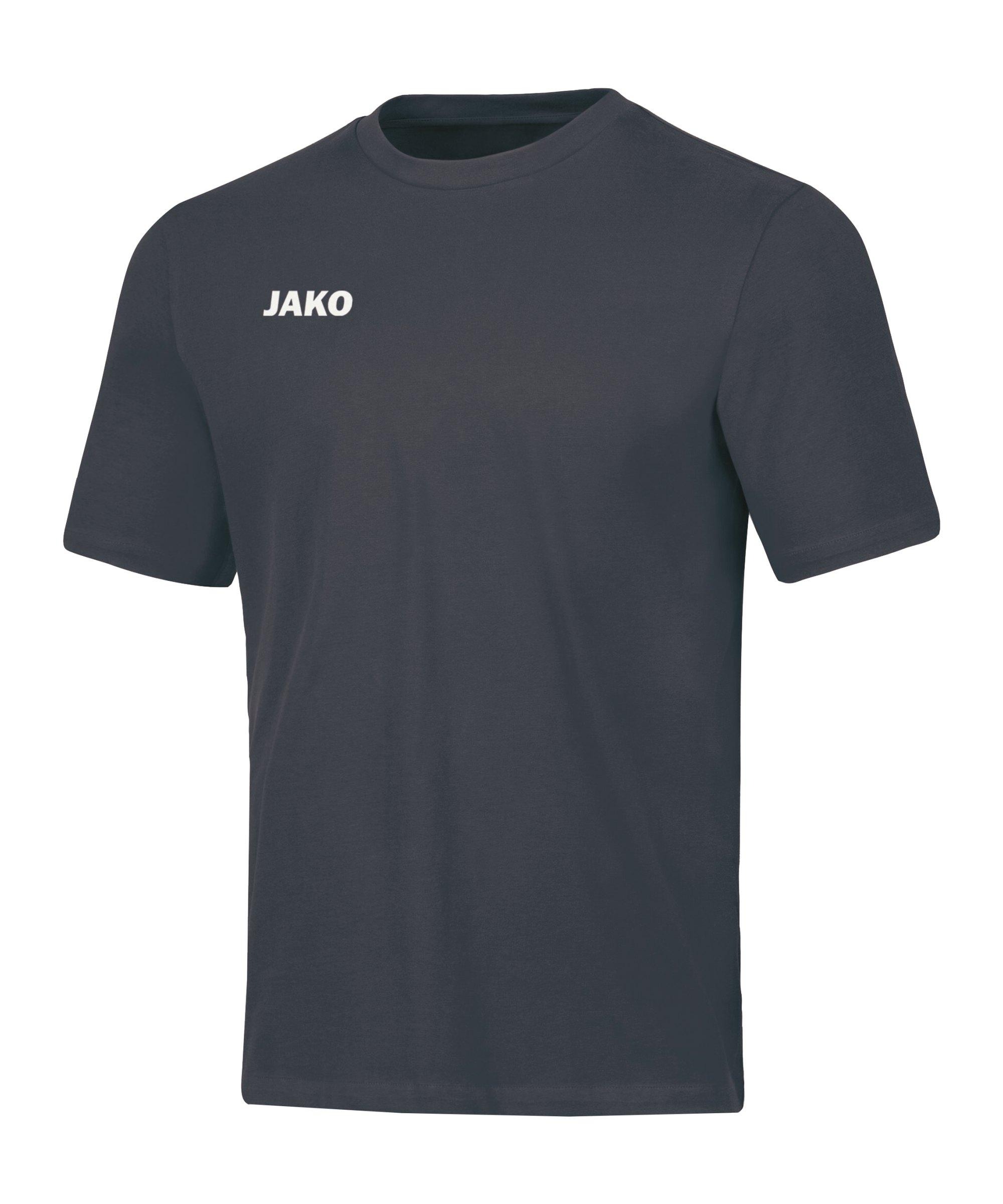 JAKO Base T-Shirt Grau F21 - grau