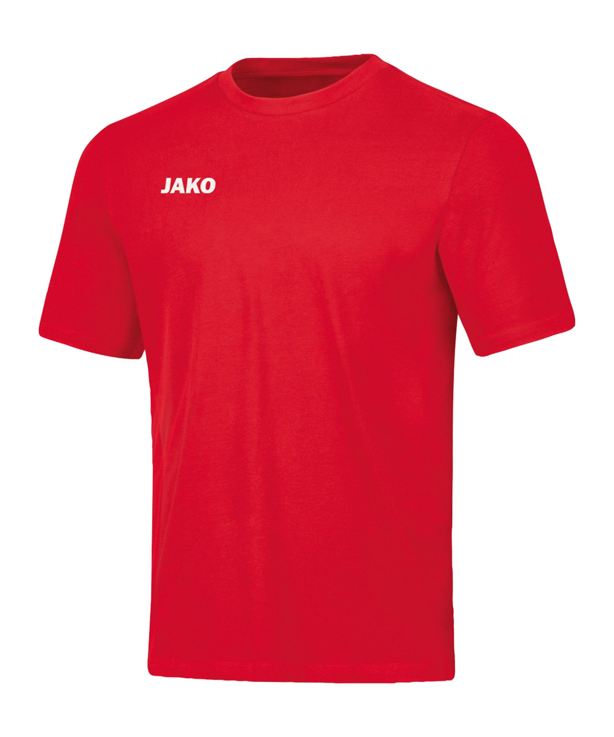 JAKO Base T-Shirt Rot F01 - rot