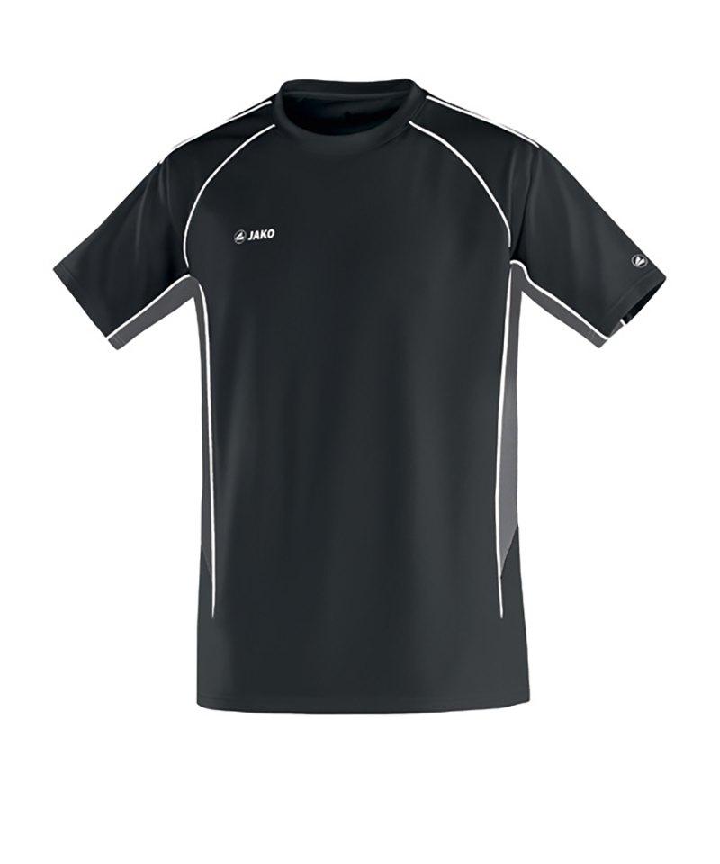 Jako T-Shirt Attack 2.0 F08 Schwarz Grau - schwarz
