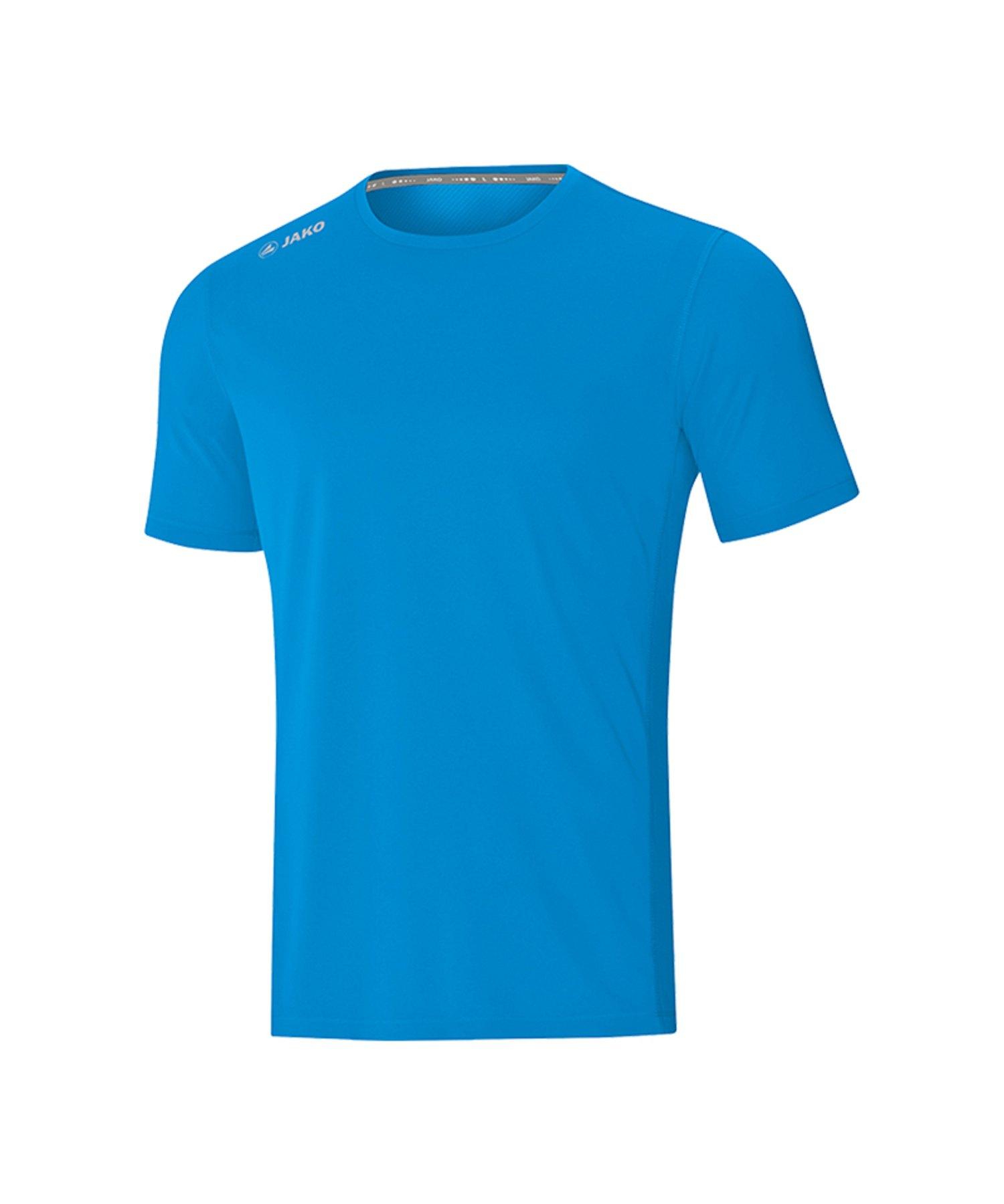 Jako Run 2.0 T-Shirt Running Blau F89 - Blau