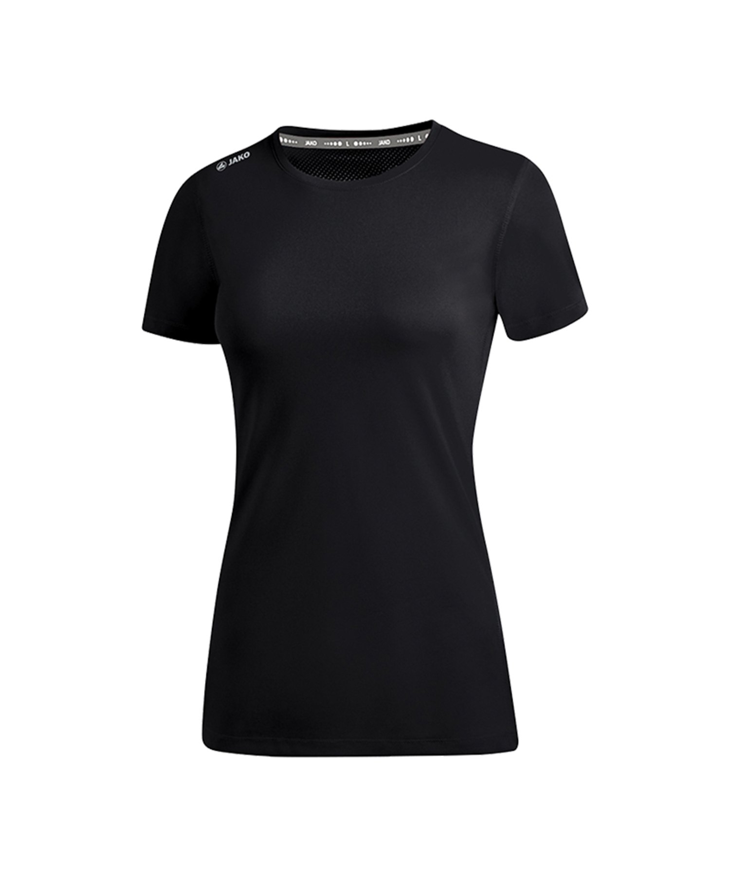 Jako Run 2.0 T-Shirt Running Damen Schwarz F08 - Schwarz