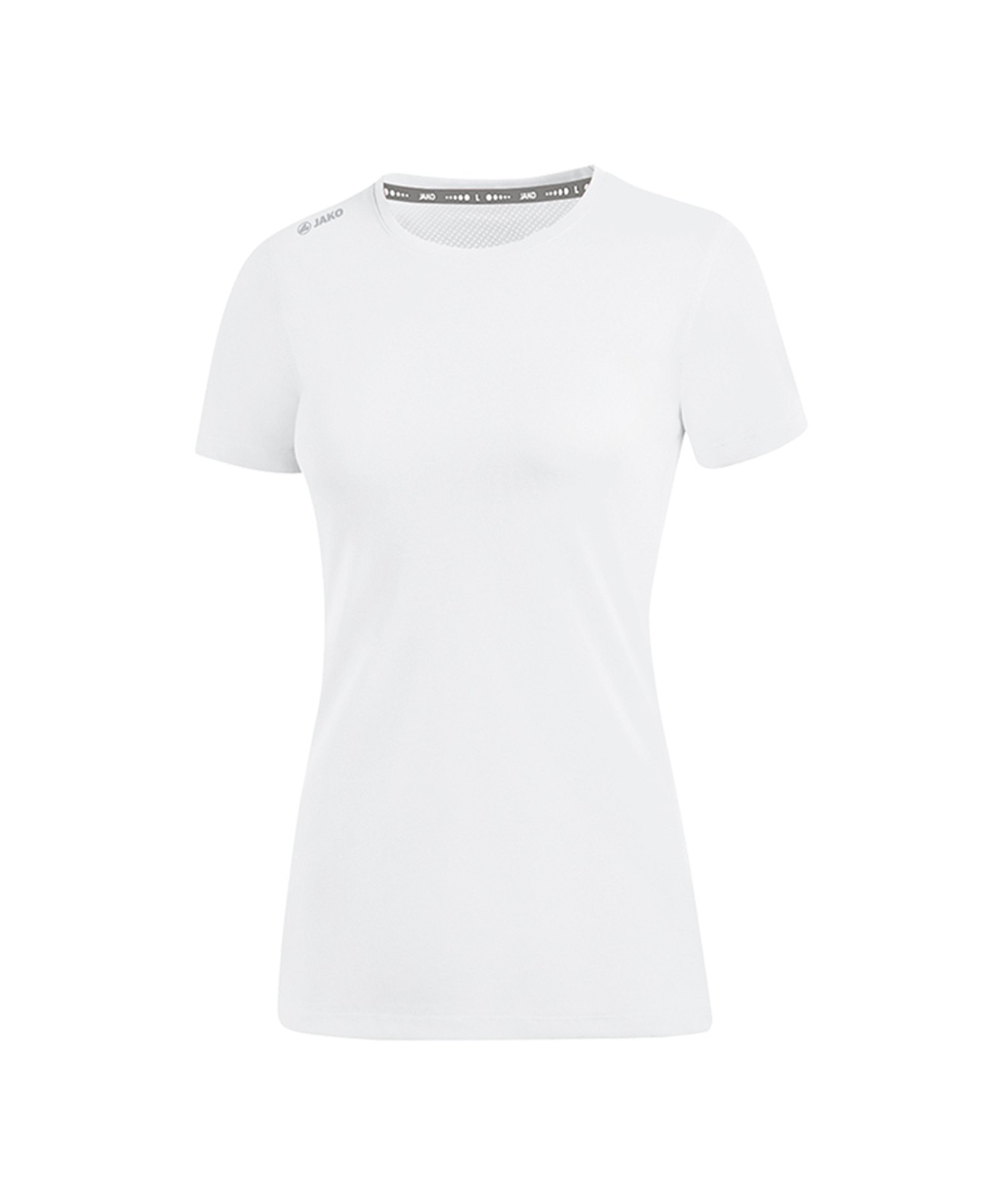 Jako Run 2.0 T-Shirt Running Damen Weiss F00 - Weiss