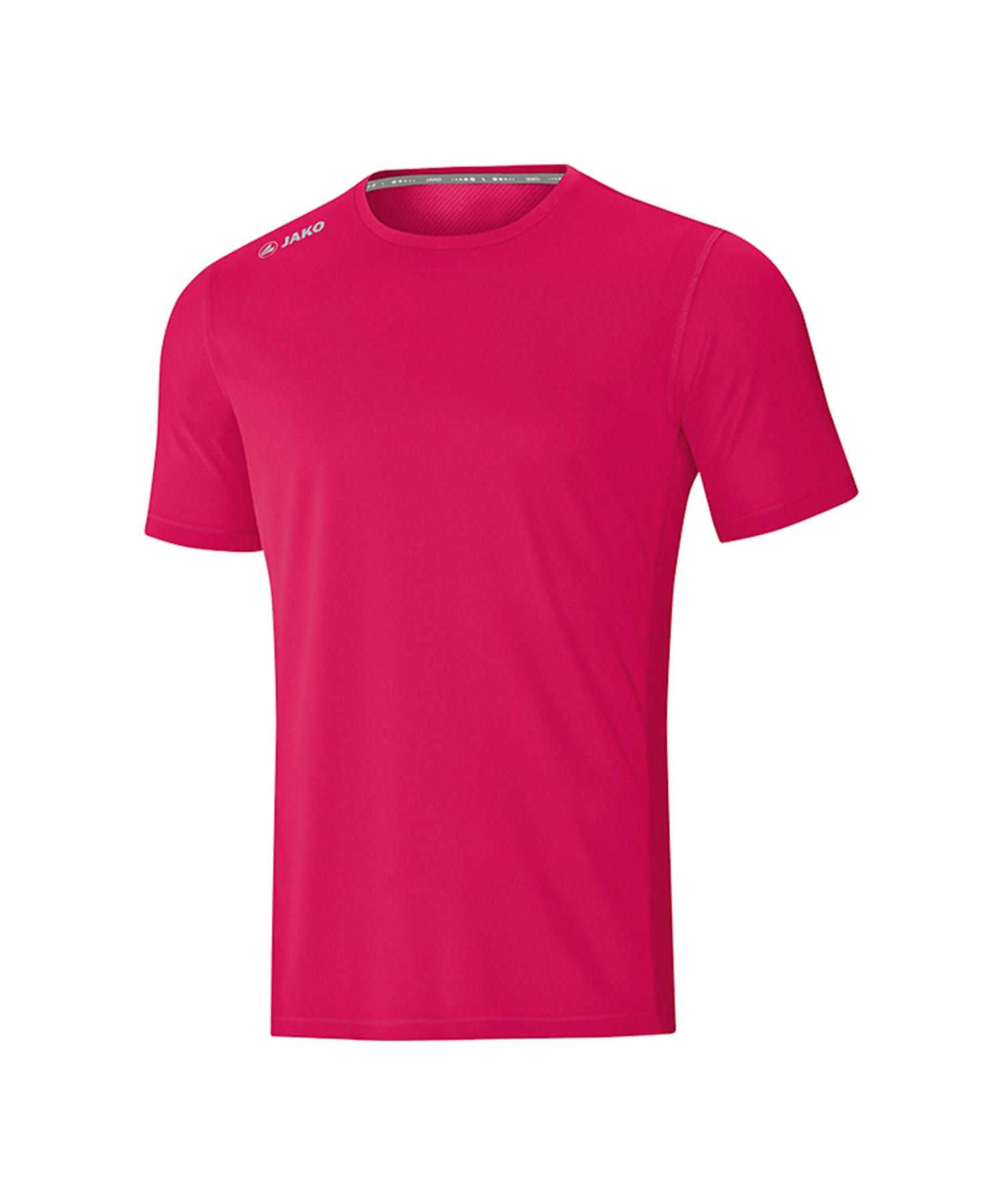 Jako Run 2.0 T-Shirt Running Pink F51 - Pink
