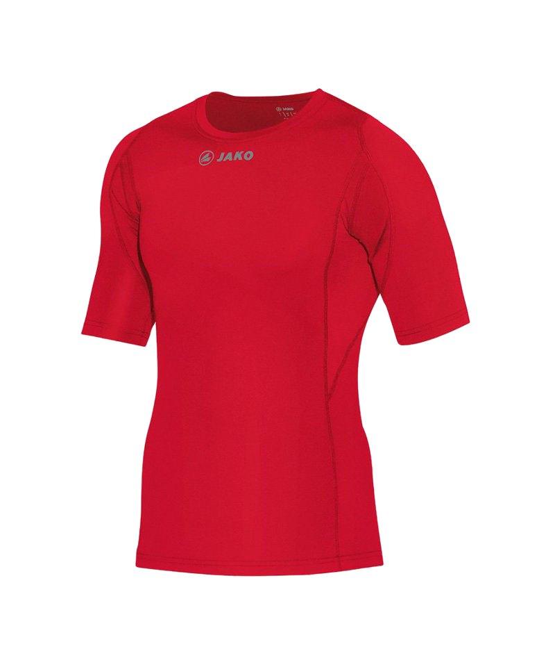 Jako Compression T-Shirt Unterziehshirt Rot F01 - rot