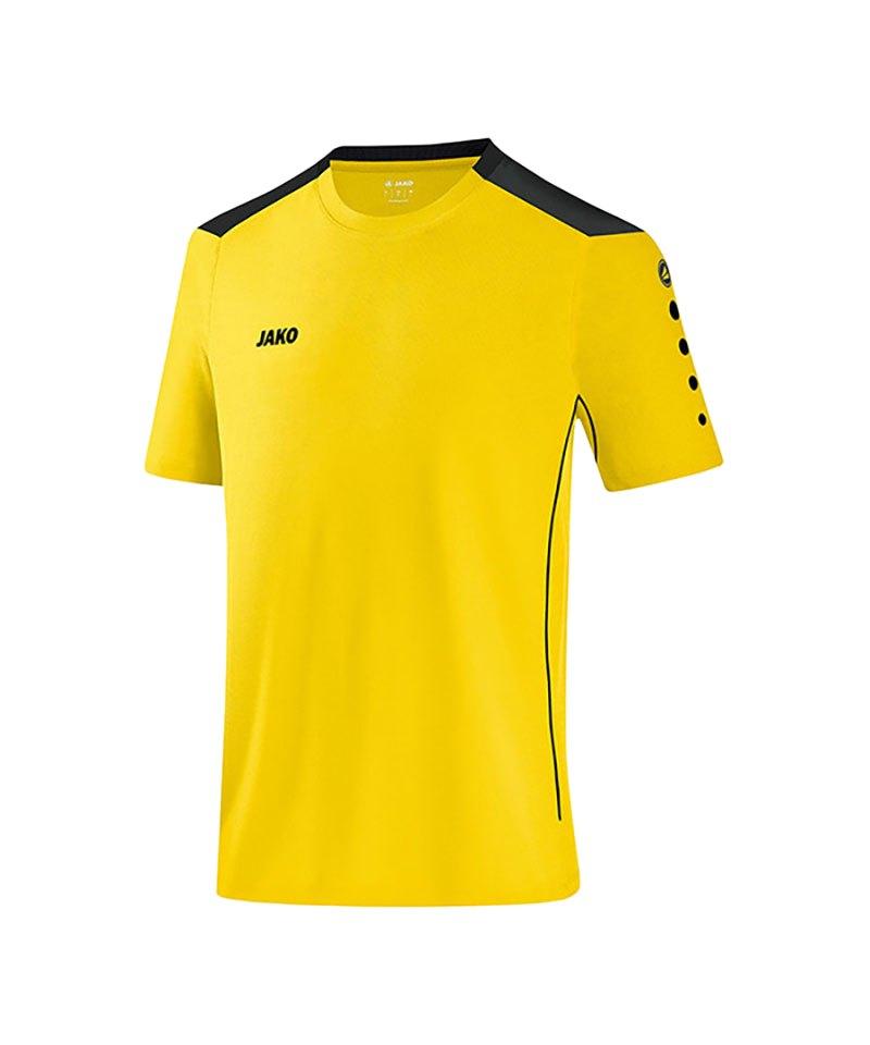 Jako T-Shirt Cup F03 Gelb Schwarz - gelb